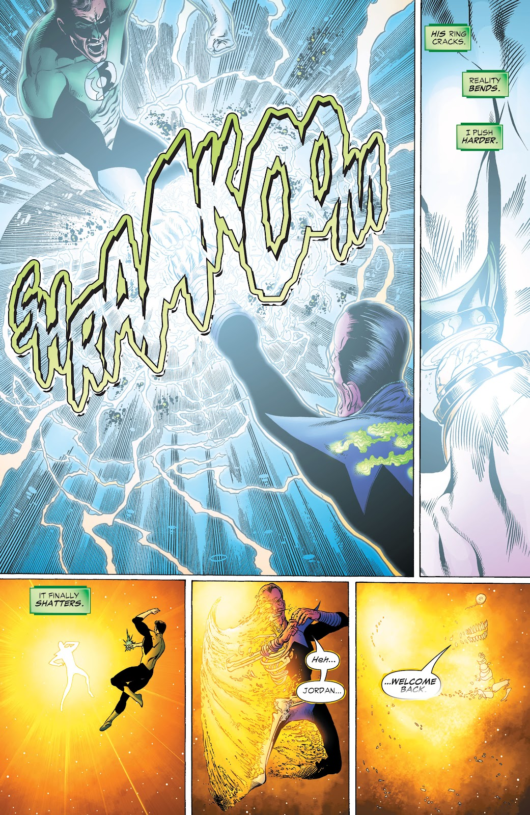 Read online Green Lantern by Geoff Johns comic -  Issue # TPB 1 (Part 2) - 26