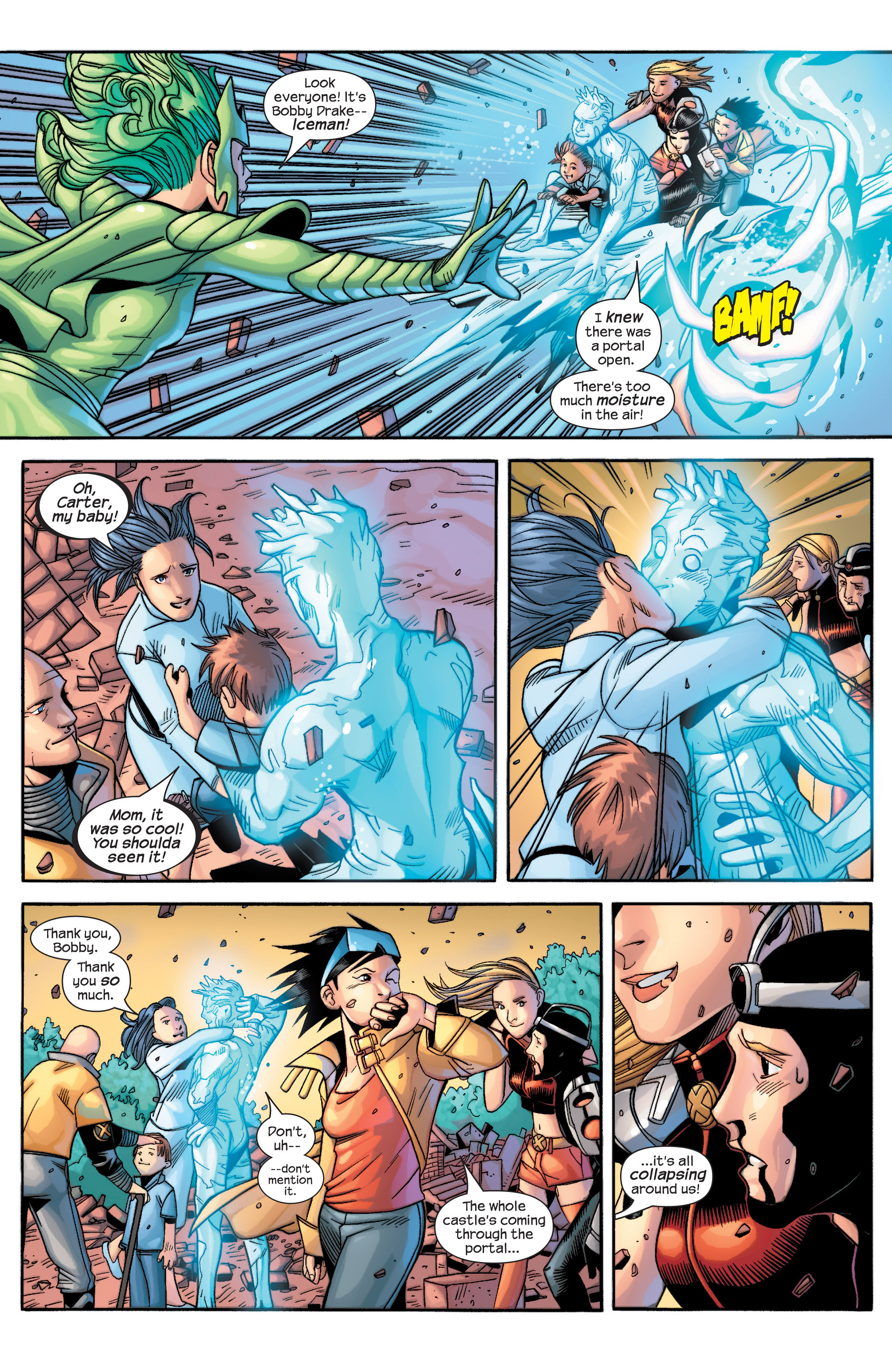 Read online Uncanny X-Men (1963) comic -  Issue #434 - 21
