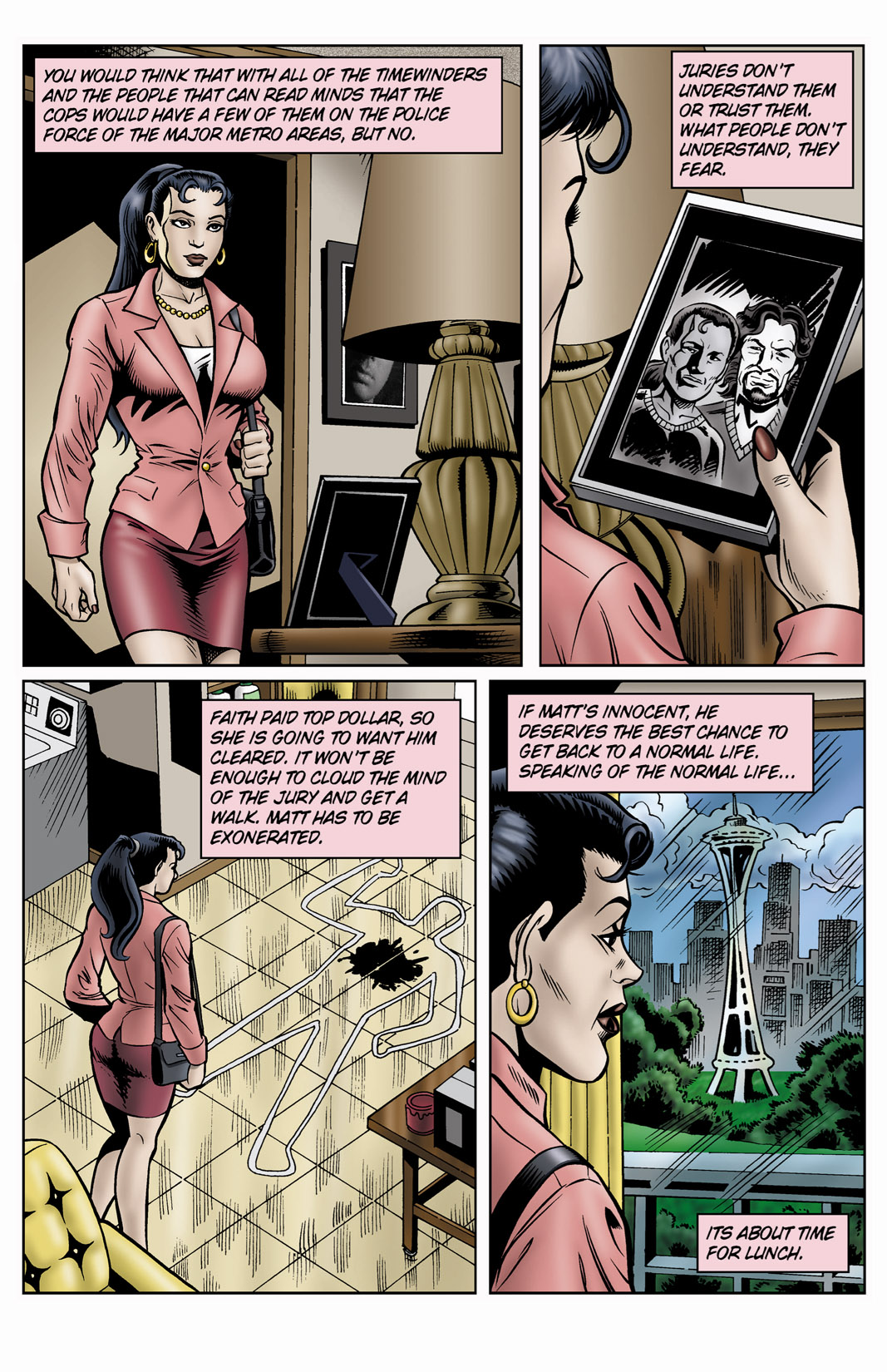 Read online SideChicks comic -  Issue #4 - 18