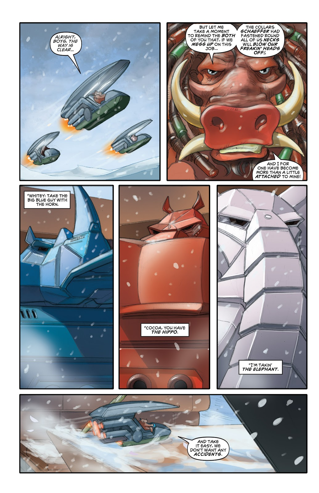 Read online Elephantmen 2261 Season Two: The Pentalion Job comic -  Issue # TPB - 41