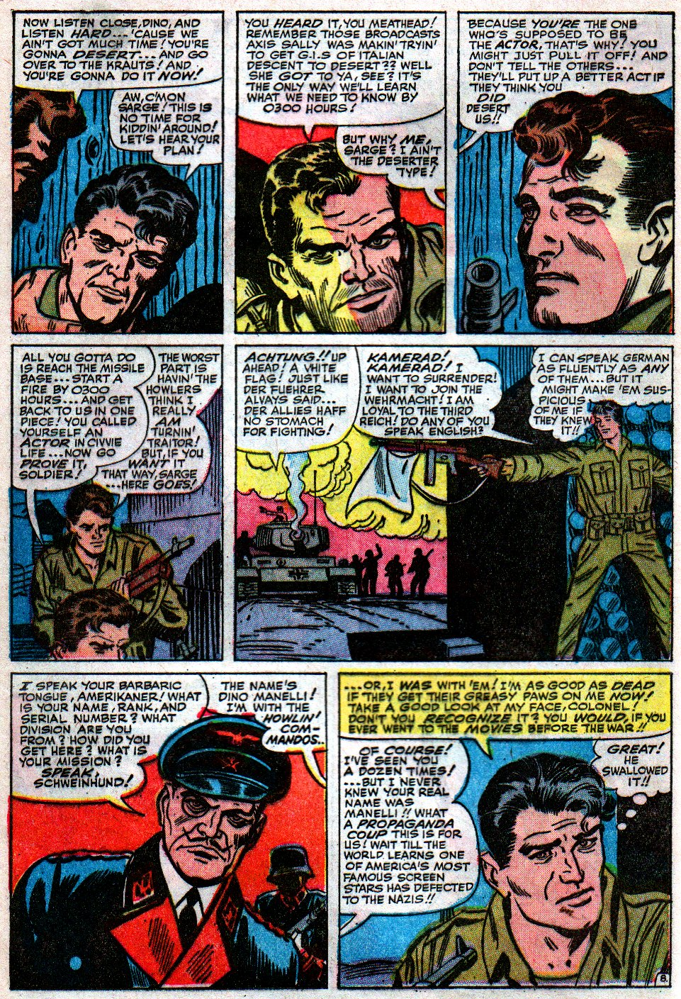Read online Sgt. Fury comic -  Issue #12 - 12