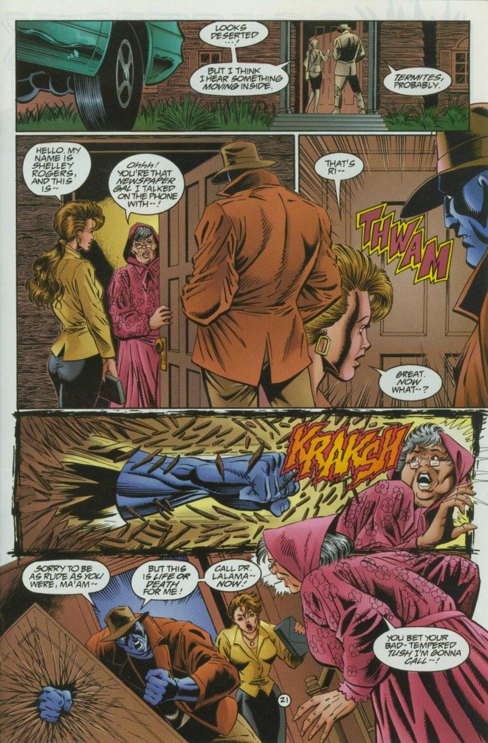 Read online Sludge comic -  Issue #10 - 24