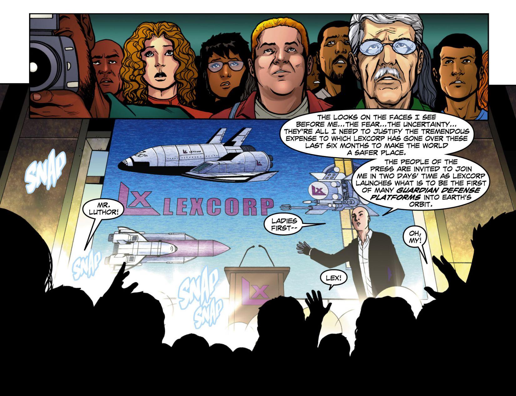 Read online Smallville: Season 11 comic -  Issue #4 - 20