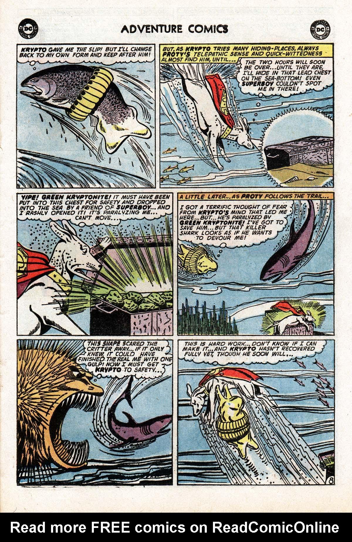 Read online Adventure Comics (1938) comic -  Issue #322 - 21