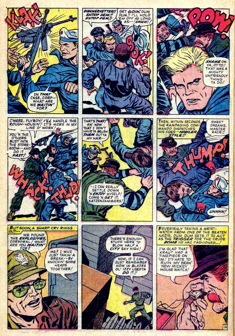 Read online Sgt. Fury comic -  Issue #26 - 20