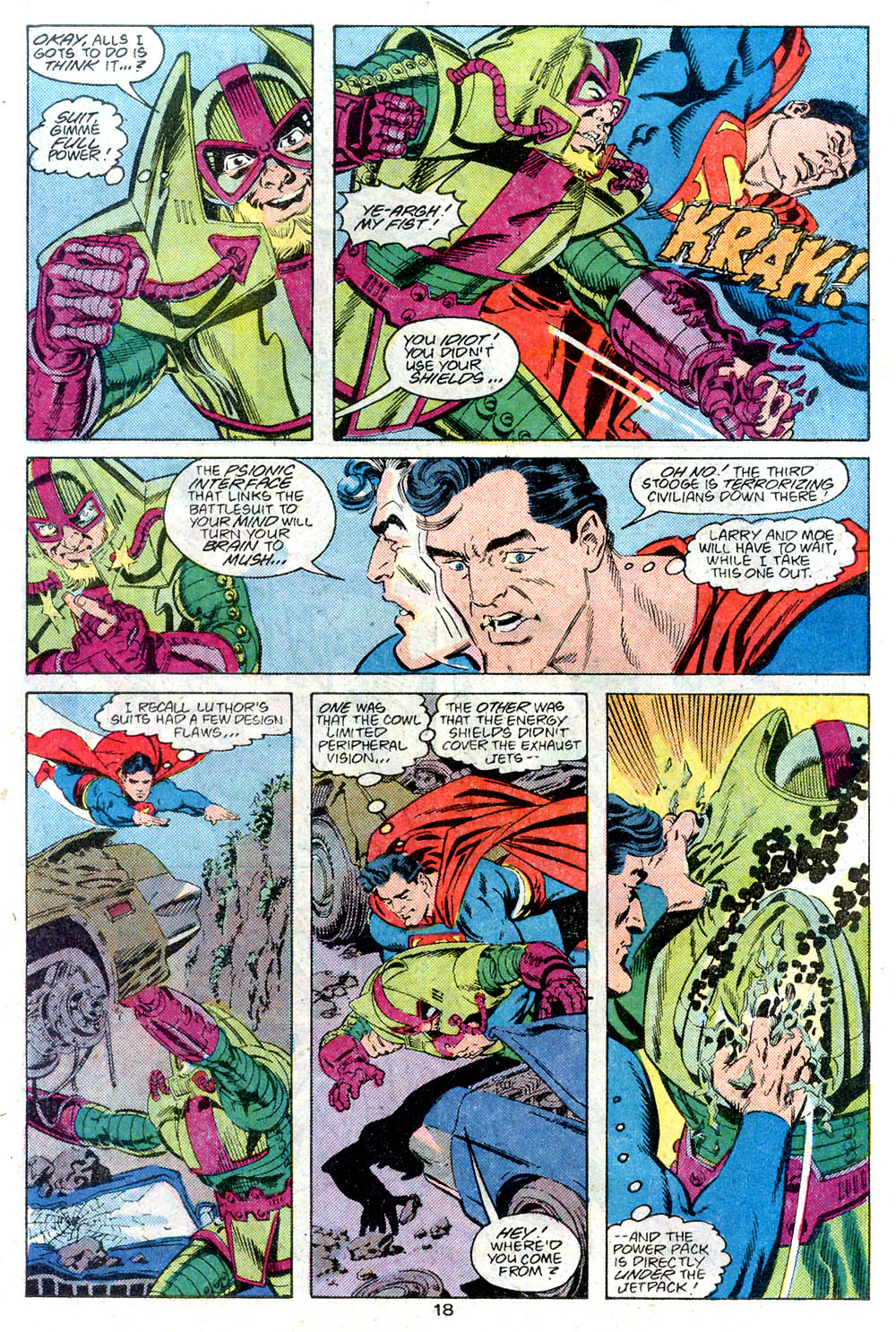 Read online Adventures of Superman (1987) comic -  Issue #446 - 19