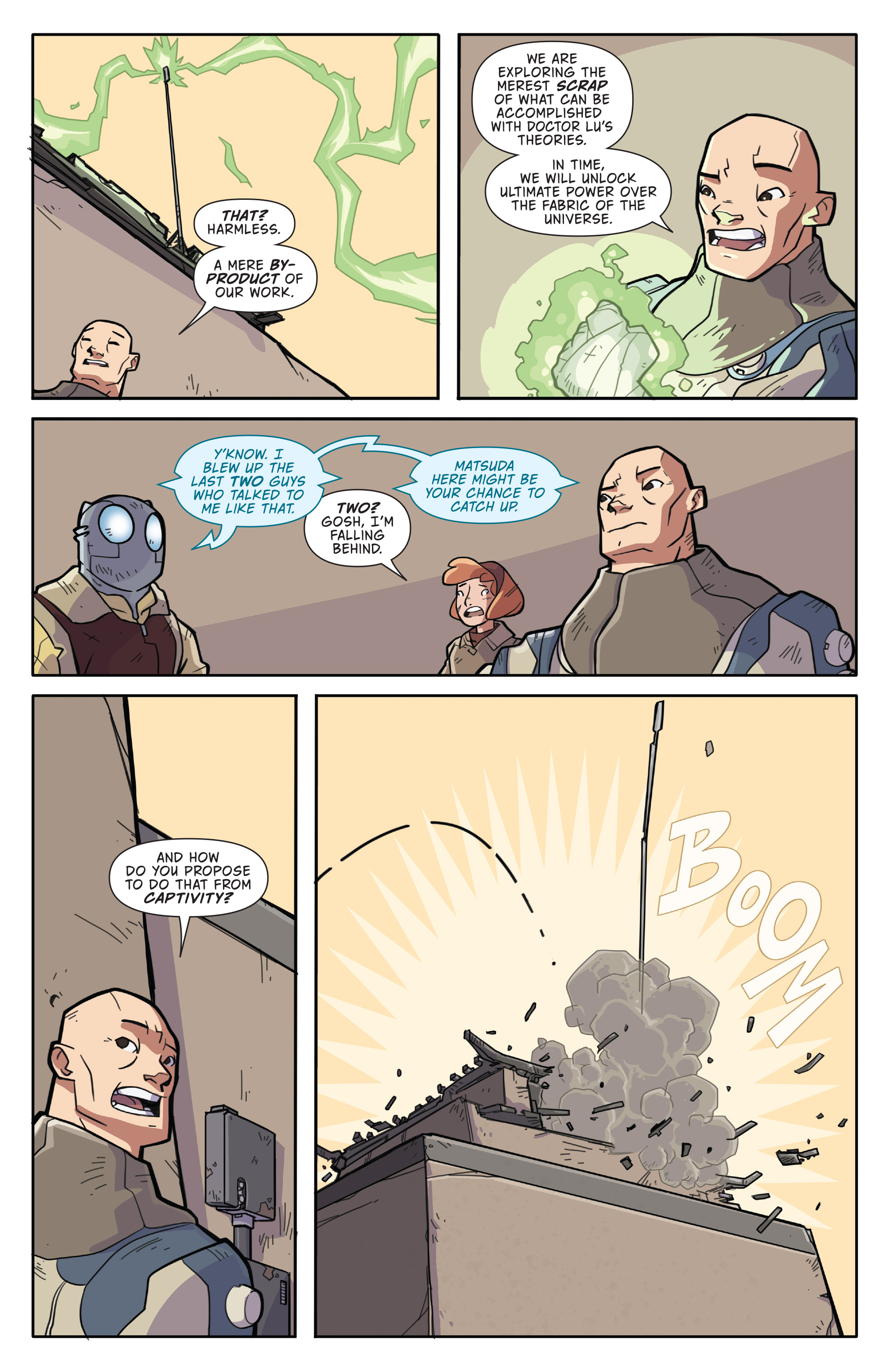 Read online Atomic Robo and the Temple of Od comic -  Issue #2 - 10