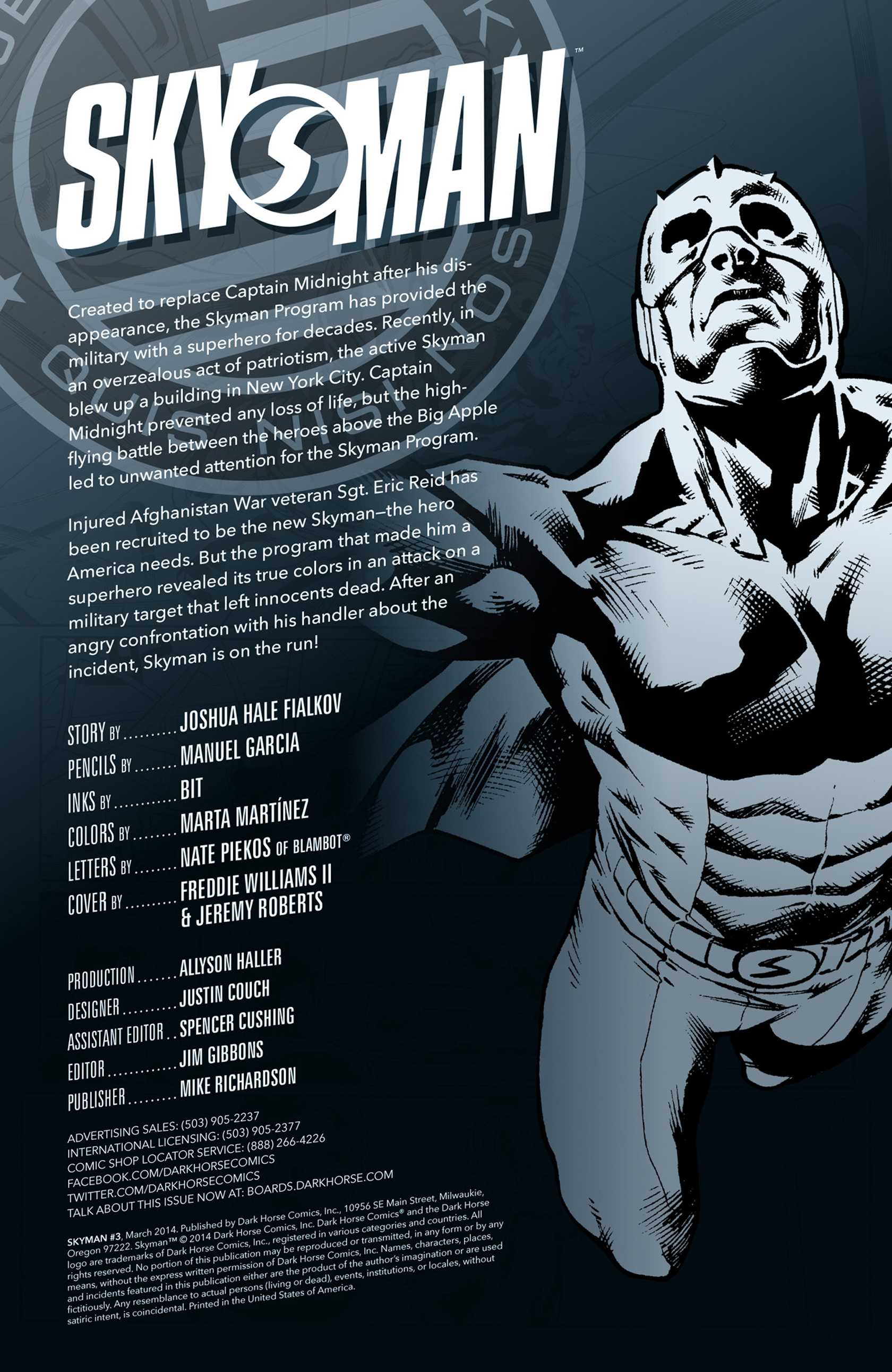 Read online Skyman comic -  Issue #3 - 2