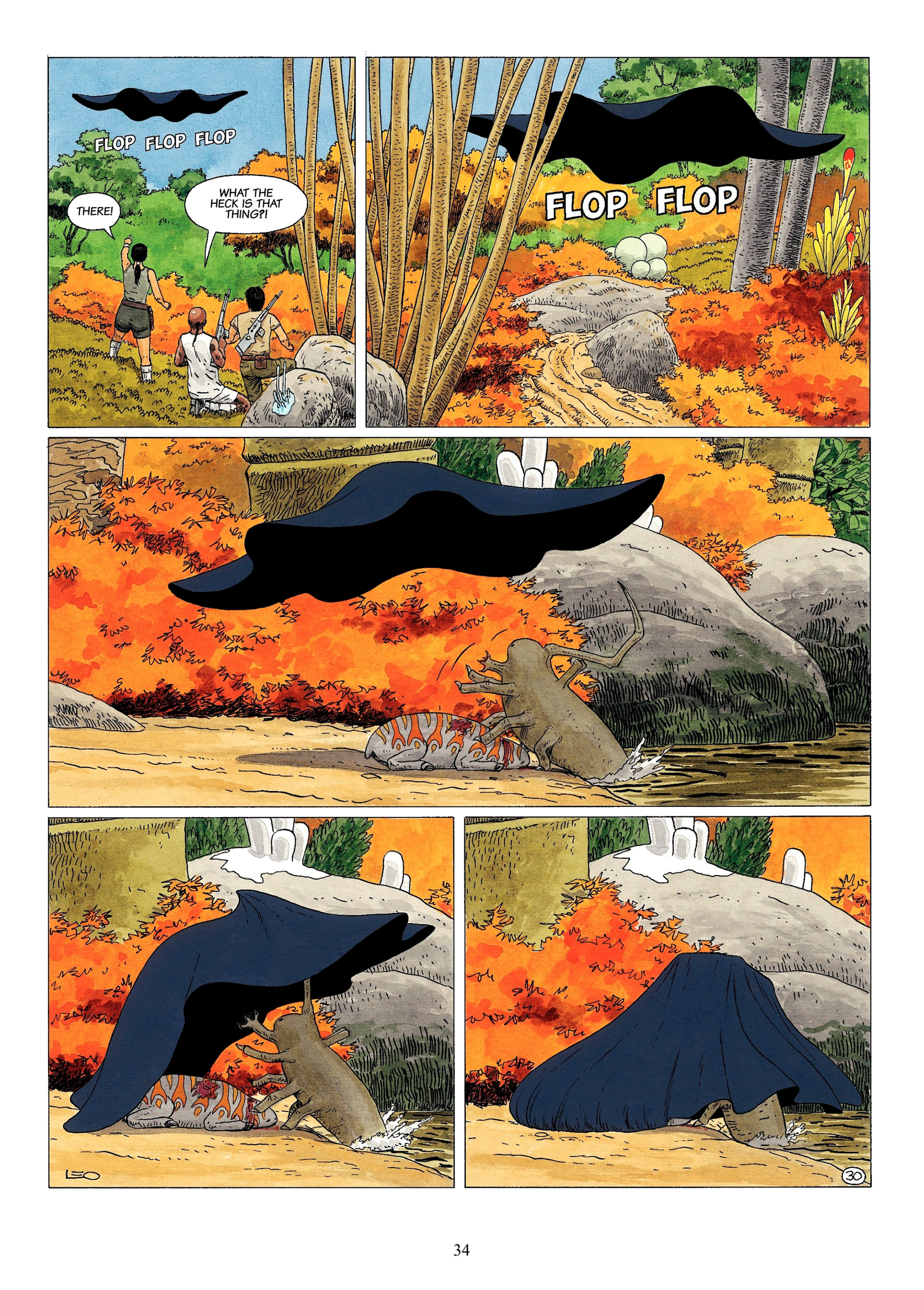 Read online Antares comic -  Issue #1 - 32
