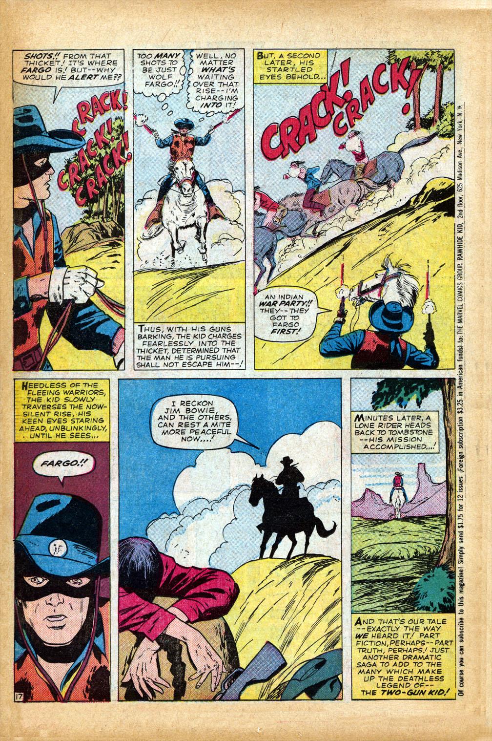Read online Two-Gun Kid comic -  Issue #75 - 22