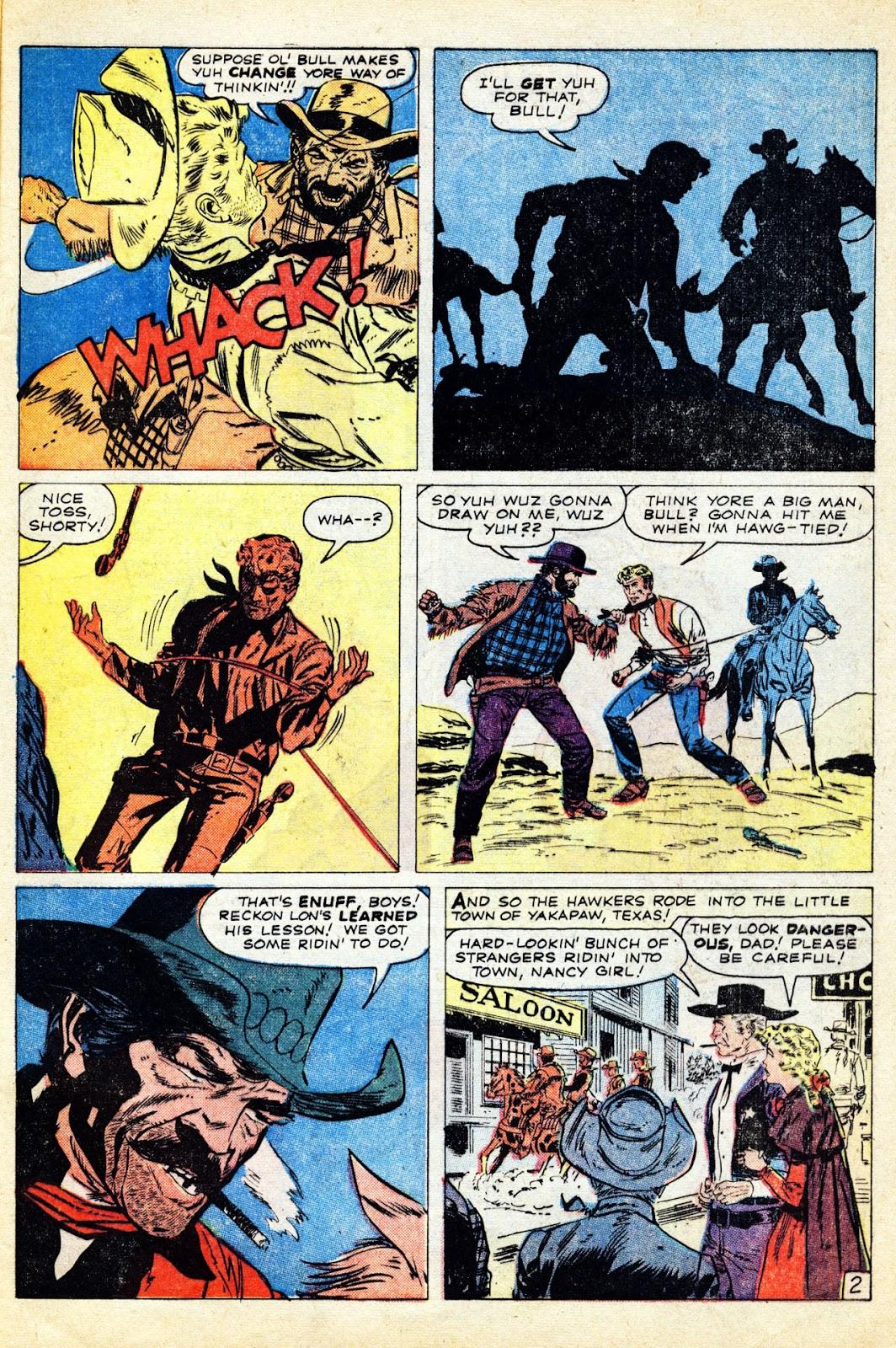 Gunsmoke Western issue 65 - Page 29