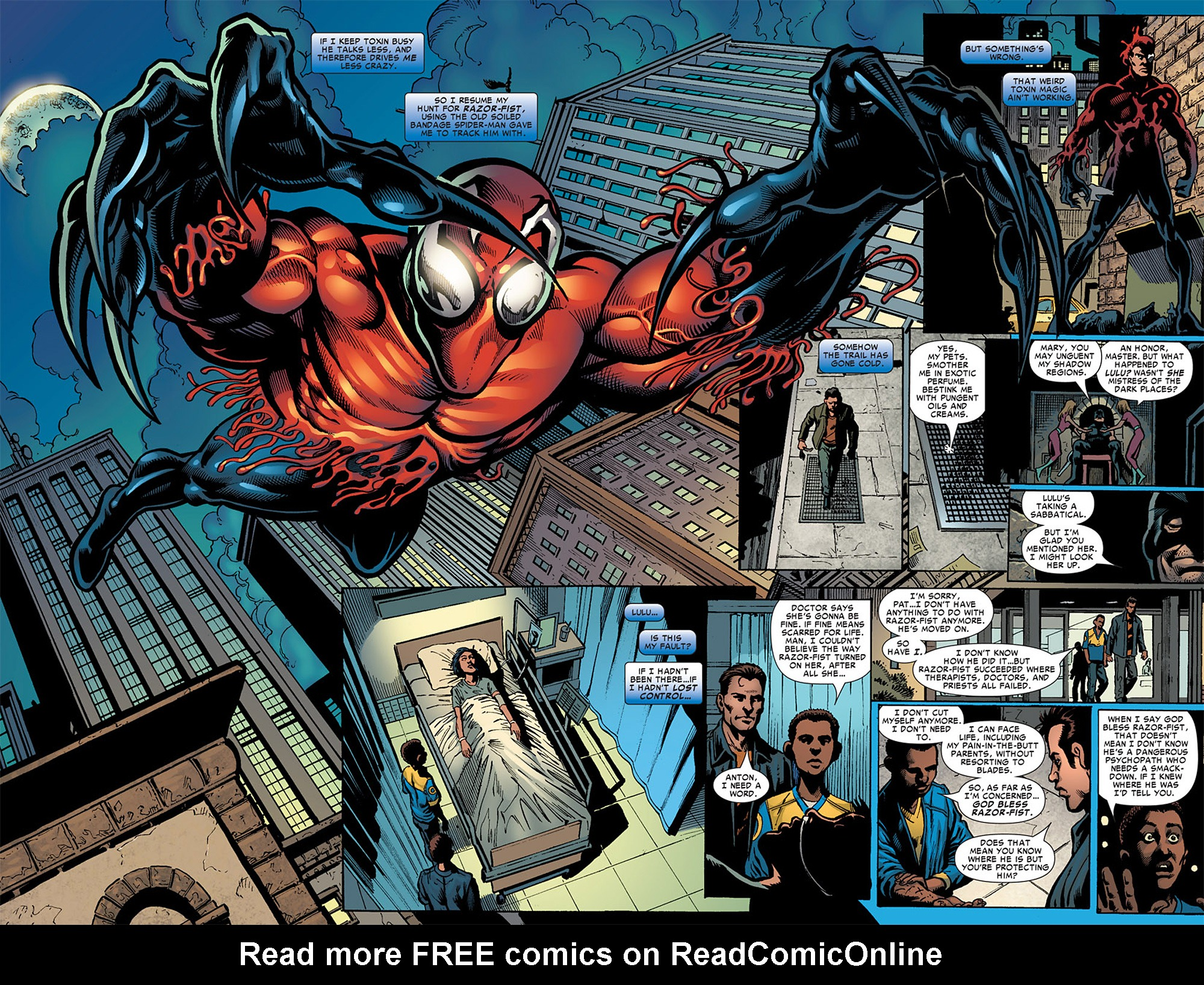 Read online Toxin comic -  Issue #3 - 15