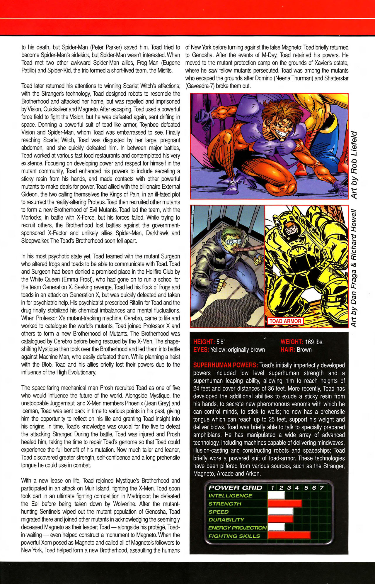 Read online All-New Official Handbook of the Marvel Universe A to Z comic -  Issue #11 - 51