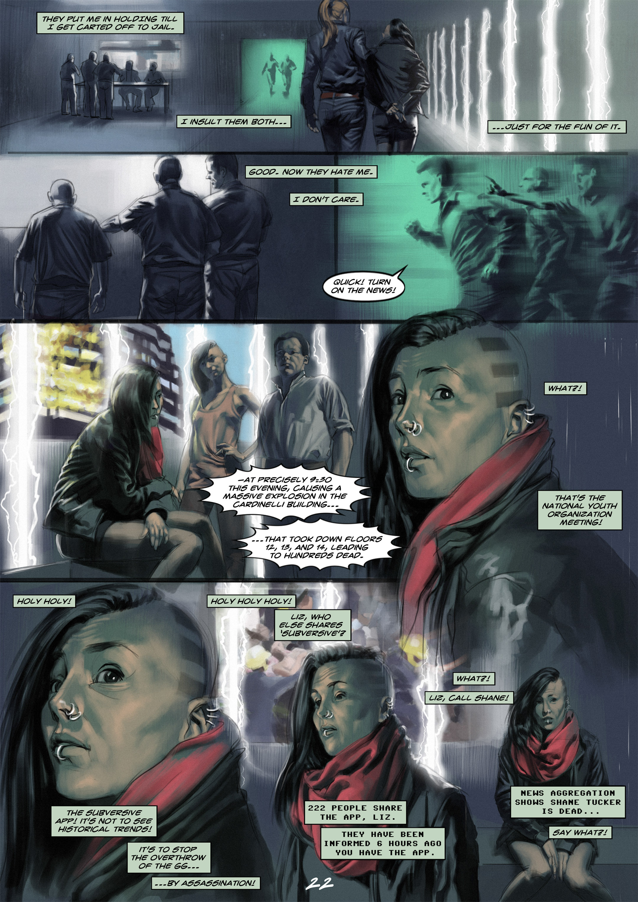 Read online Wynter comic -  Issue #1 - 22
