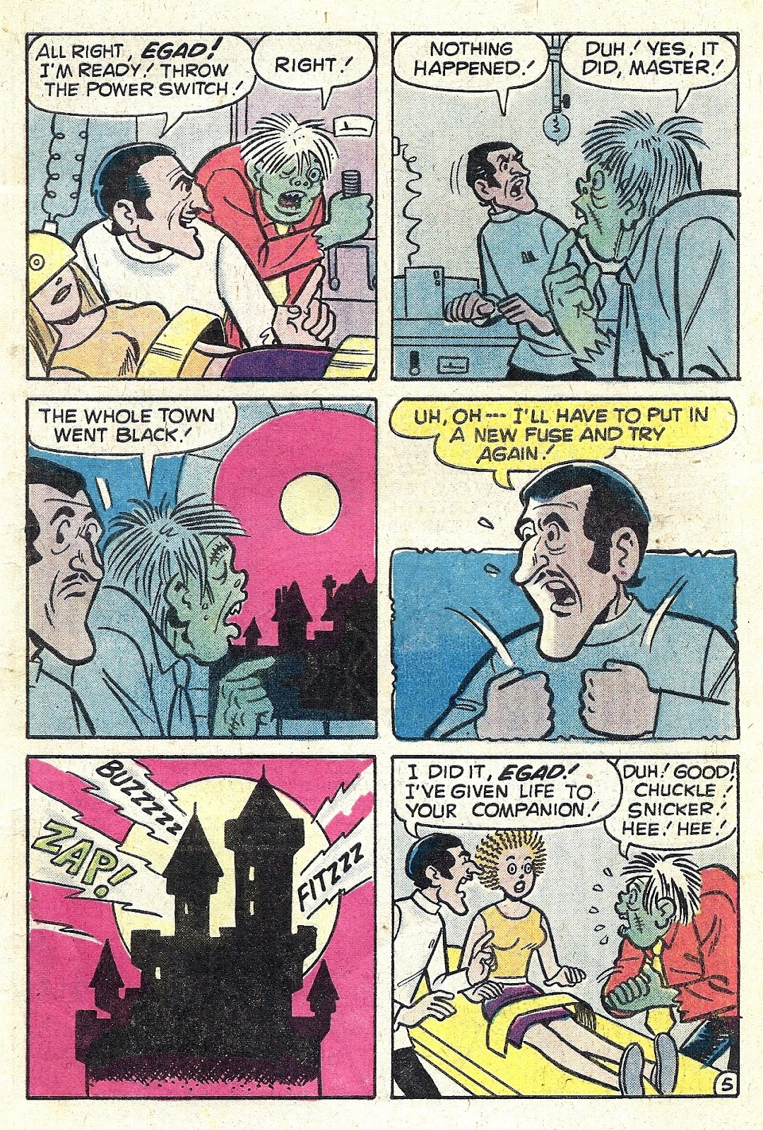 Read online Madhouse Comics comic -  Issue #114 - 7