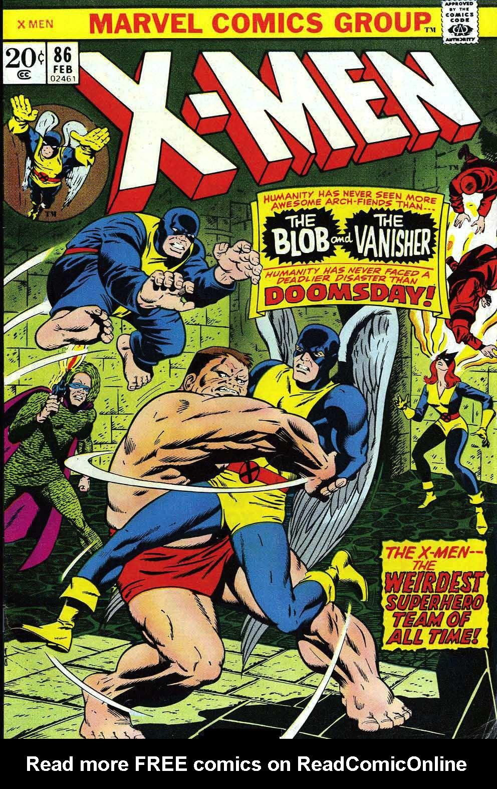 Uncanny X-Men (1963) 86 Page 0