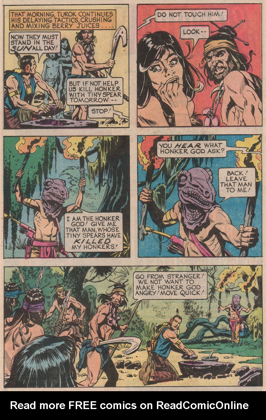 Read online Turok, Son of Stone comic -  Issue #113 - 13