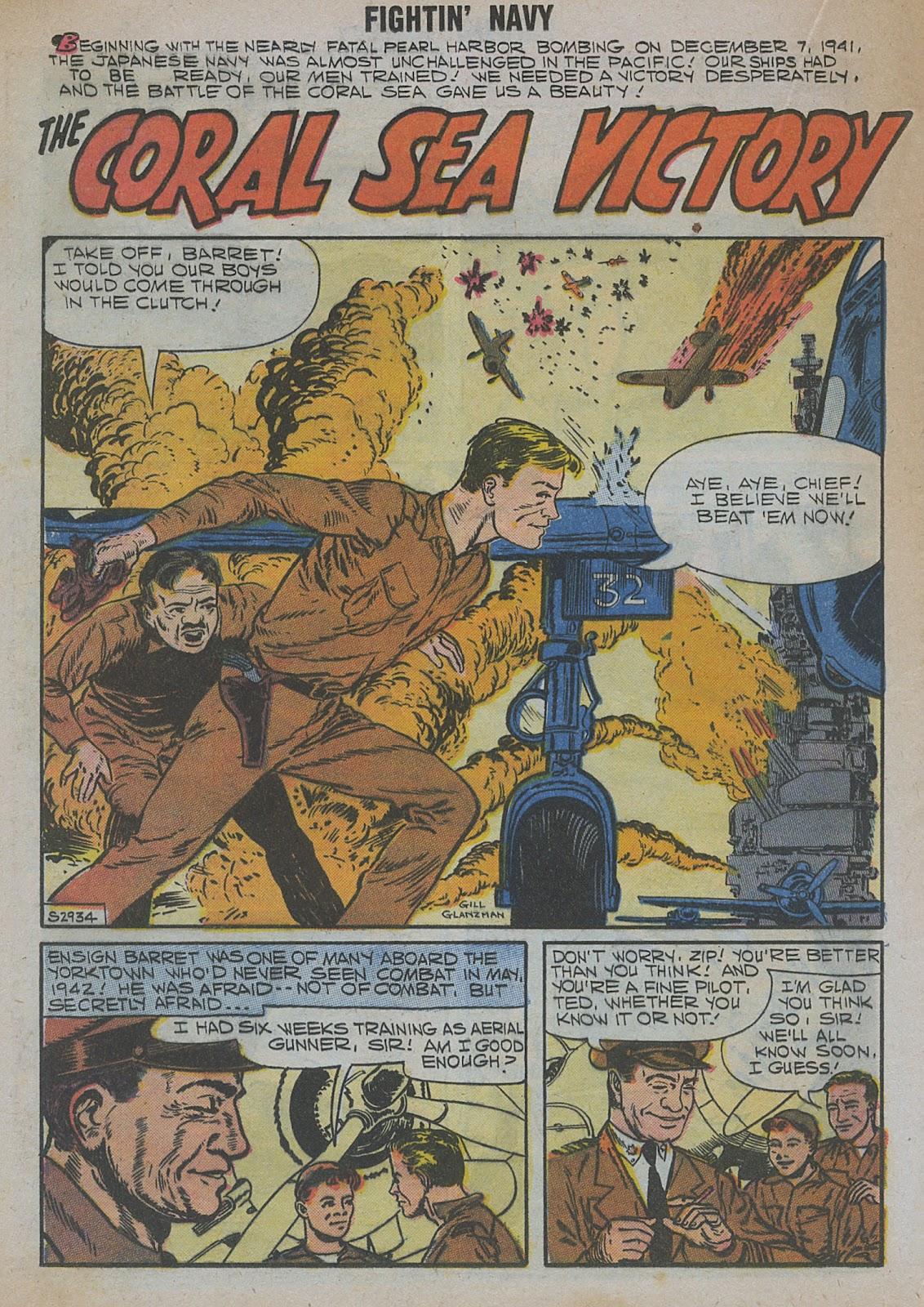 Read online Fightin' Navy comic -  Issue #82 - 38