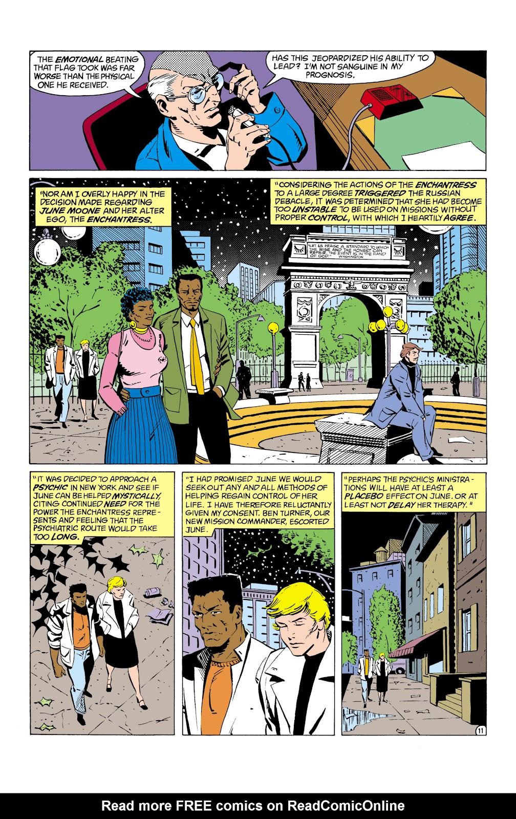 Suicide Squad (1987) Issue #8 #9 - English 12