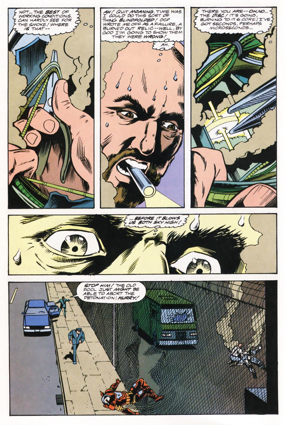 Read online Robocop (1990) comic -  Issue #15 - 6