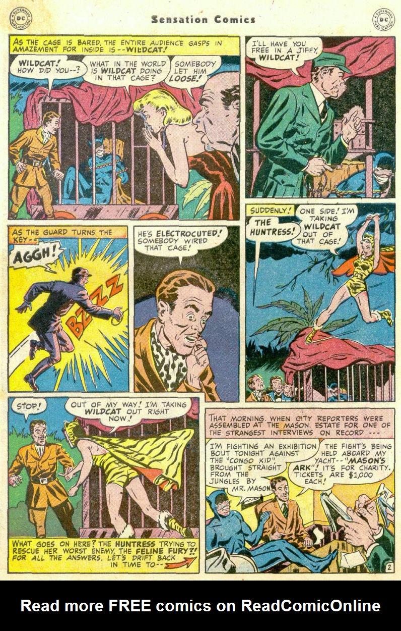 Read online Sensation (Mystery) Comics comic -  Issue #75 - 43