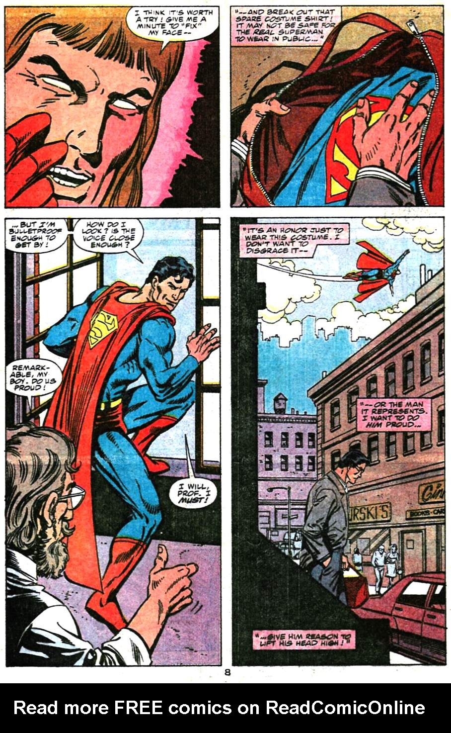 Read online Action Comics (1938) comic -  Issue #659 - 9