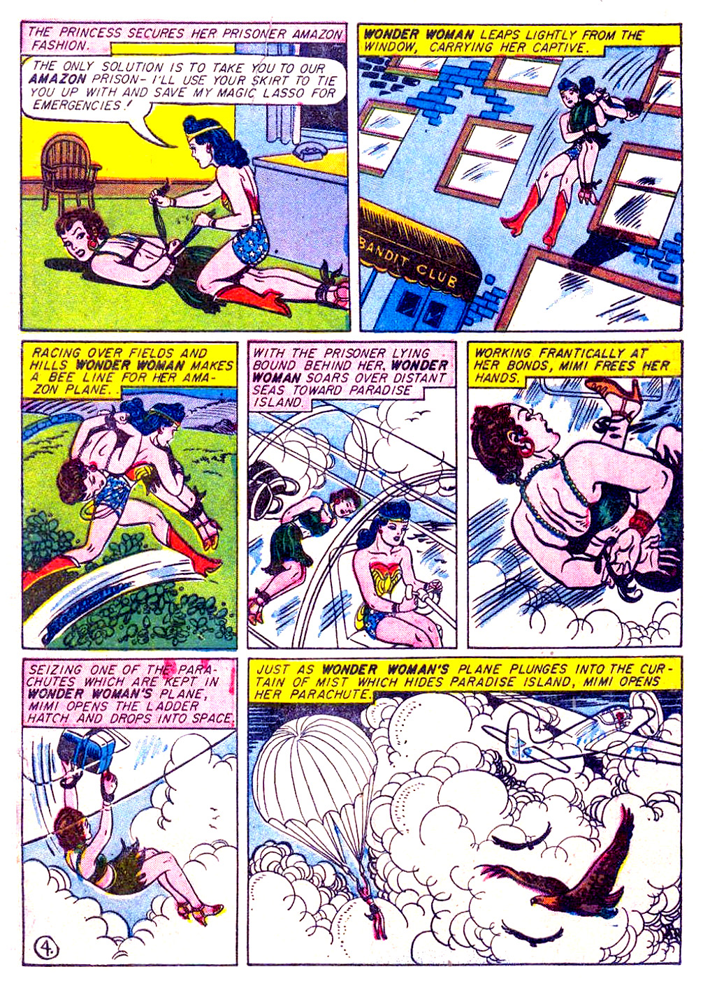 Read online Sensation (Mystery) Comics comic -  Issue #29 - 6