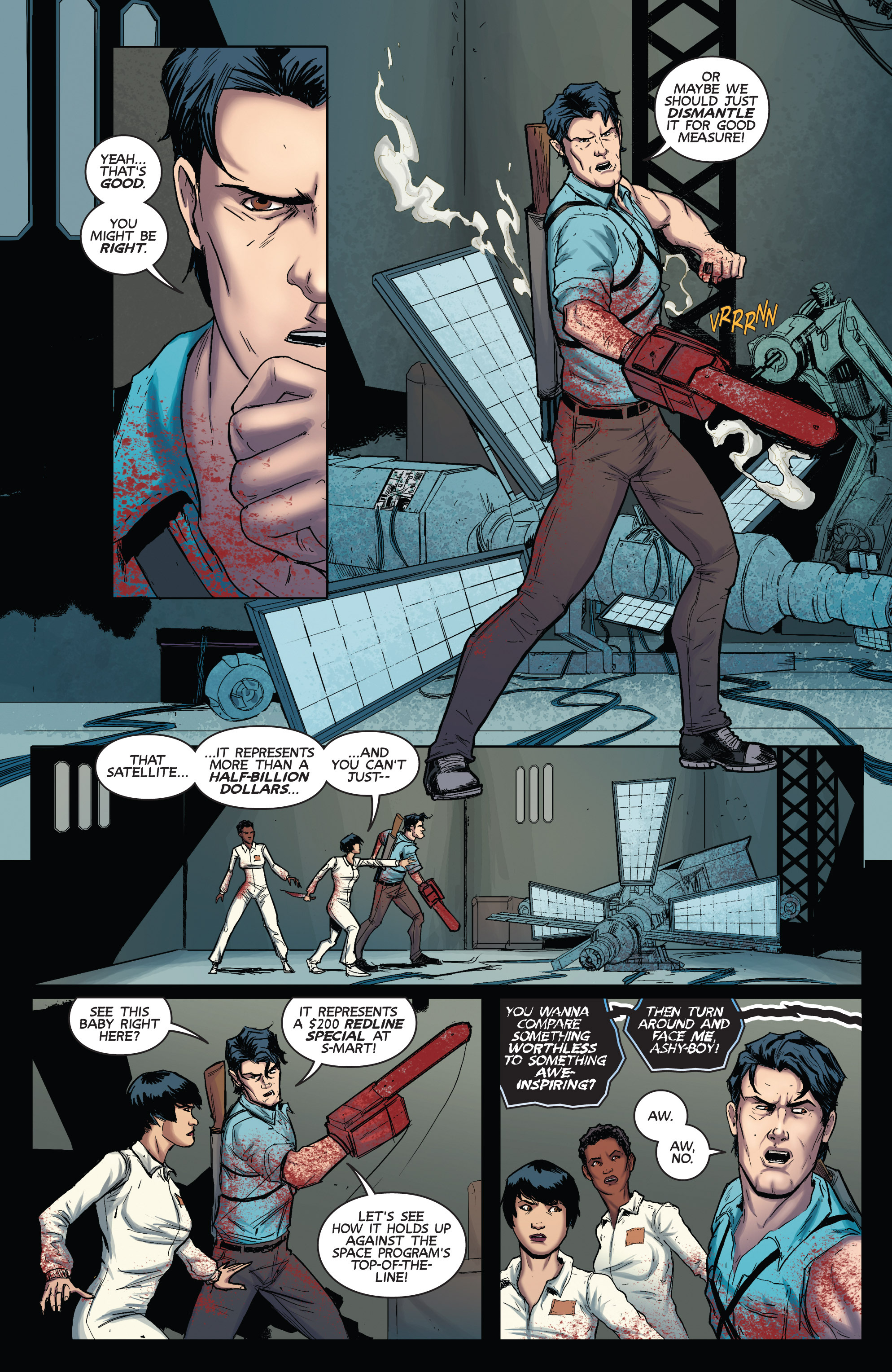 Read online Army of Darkness (2014) comic -  Issue #3 - 17