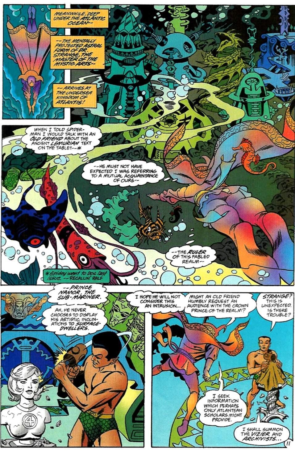 Read online Spider-Man: Lifeline comic -  Issue #2 - 12