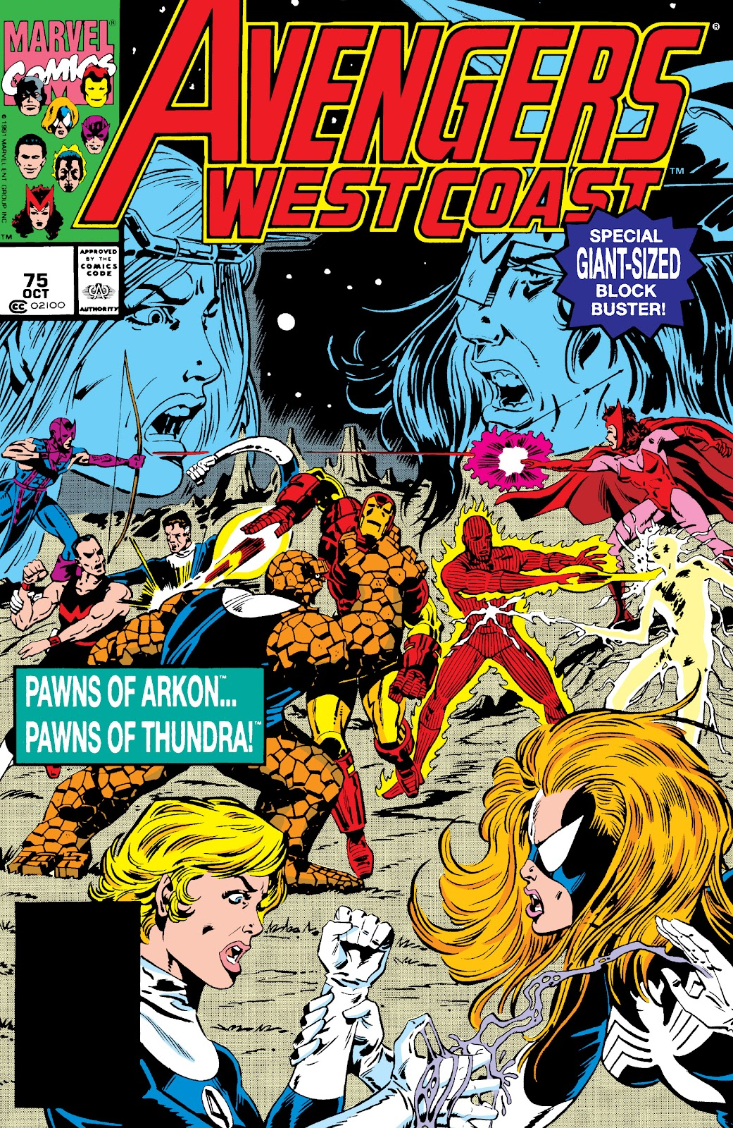 Avengers West Coast (1989) issue 75 - Page 1
