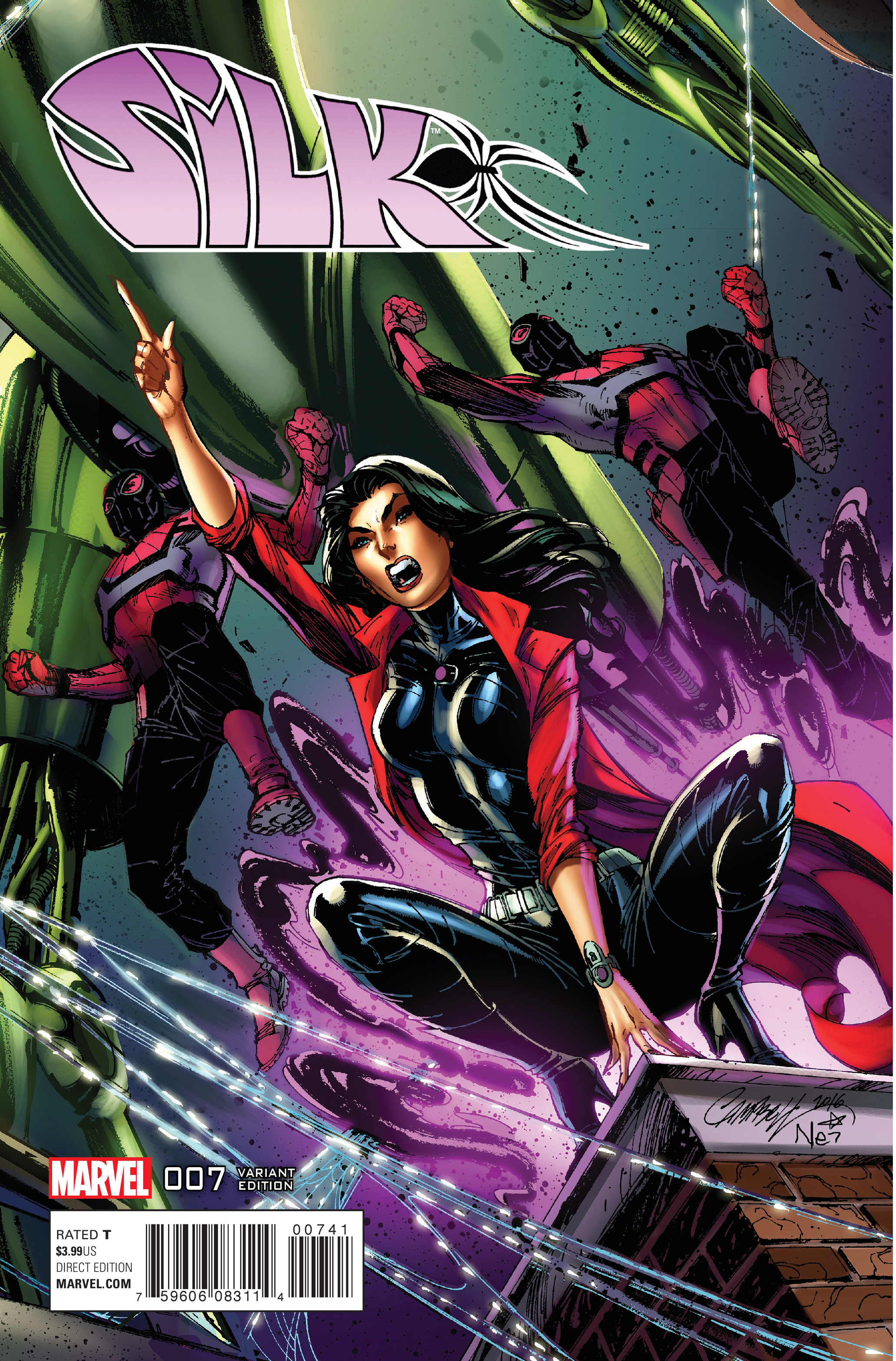 Read online Silk (2016) comic -  Issue #7 - 4
