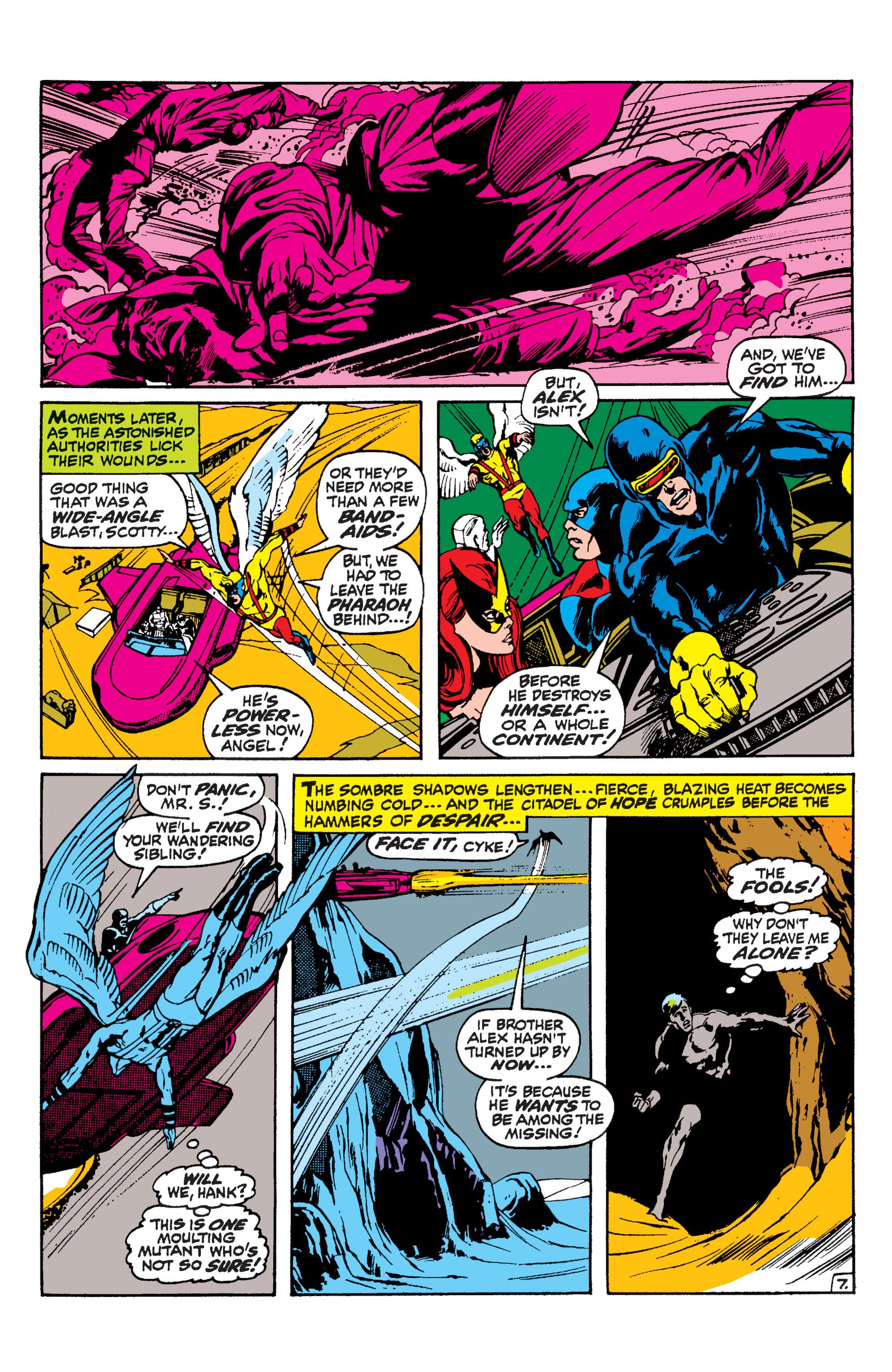 Uncanny X-Men (1963) 57 Page 7