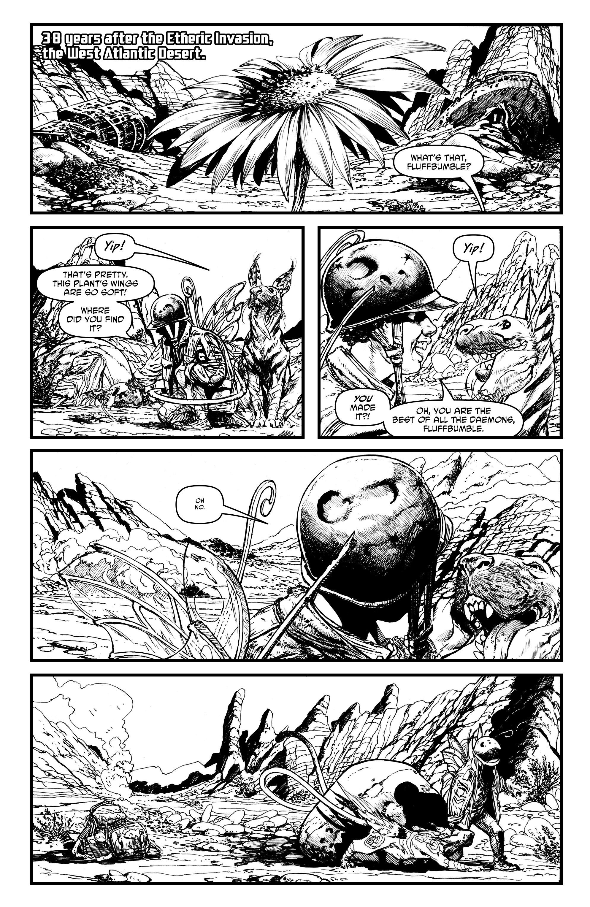 Read online Alan Moore's Cinema Purgatorio comic -  Issue #1 - 25