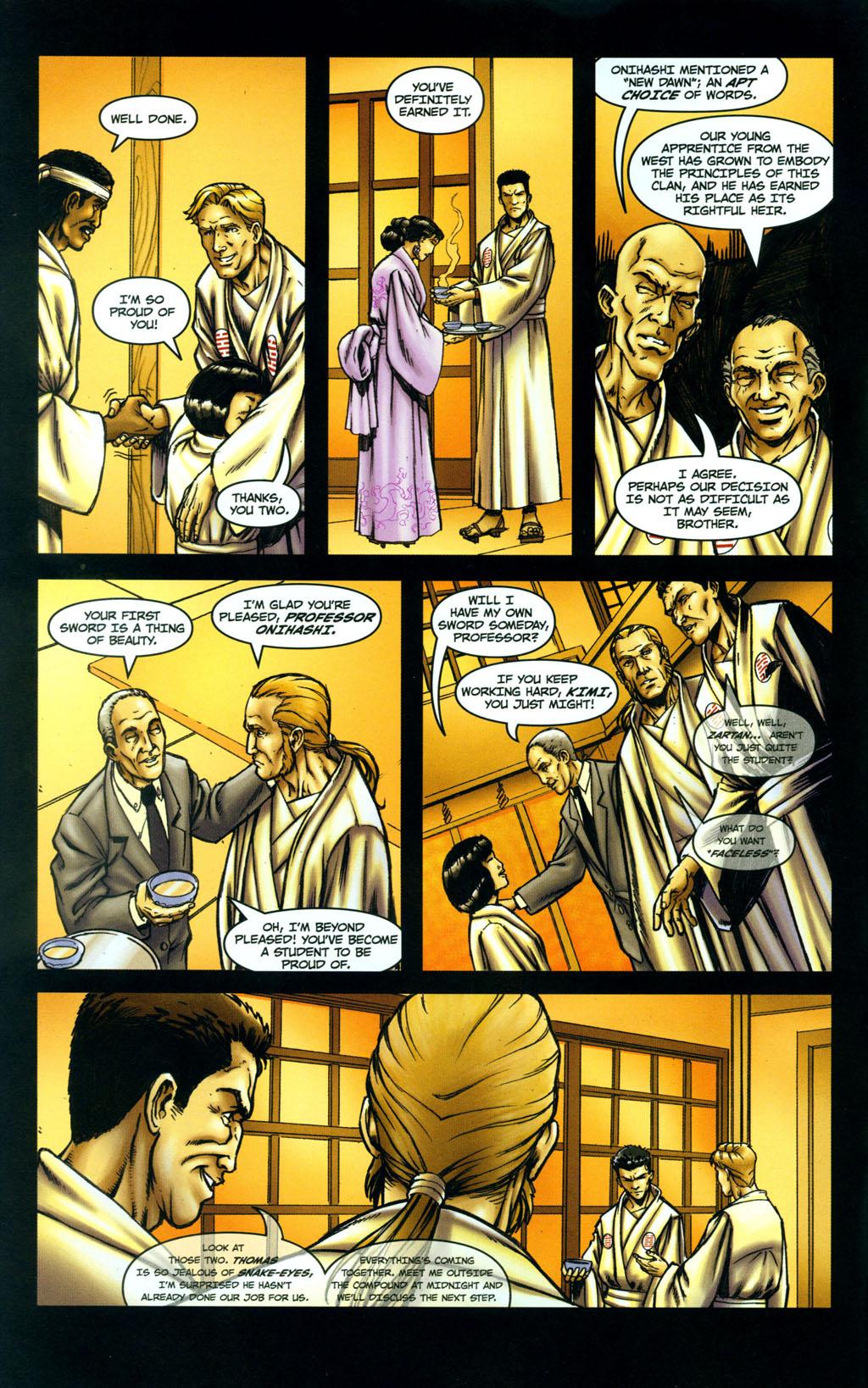 Read online Snake Eyes: Declassified comic -  Issue #5 - 4