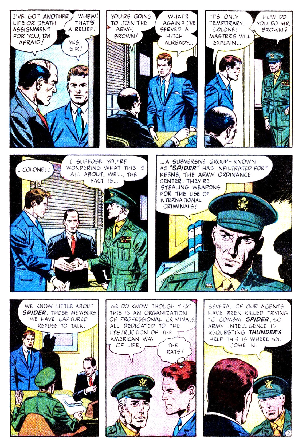 T.H.U.N.D.E.R. Agents (1965) issue 9 - Page 4