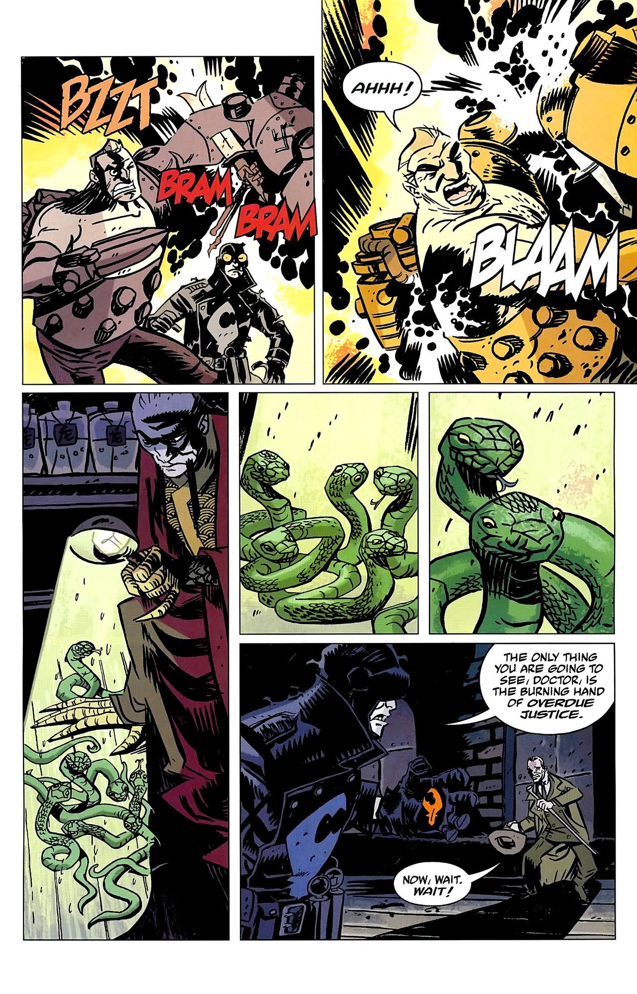 Read online Lobster Johnson: The Iron Prometheus comic -  Issue #2 - 18