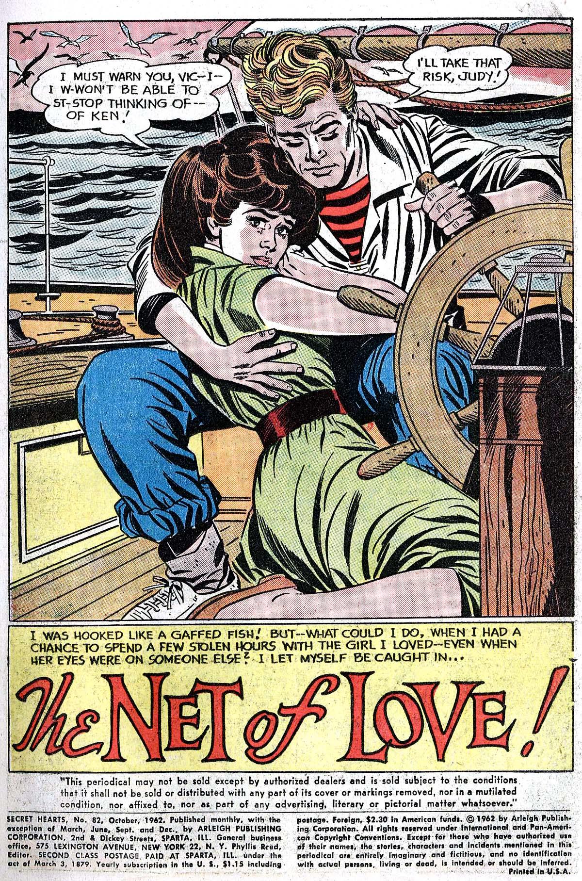 Read online Secret Hearts comic -  Issue #82 - 3