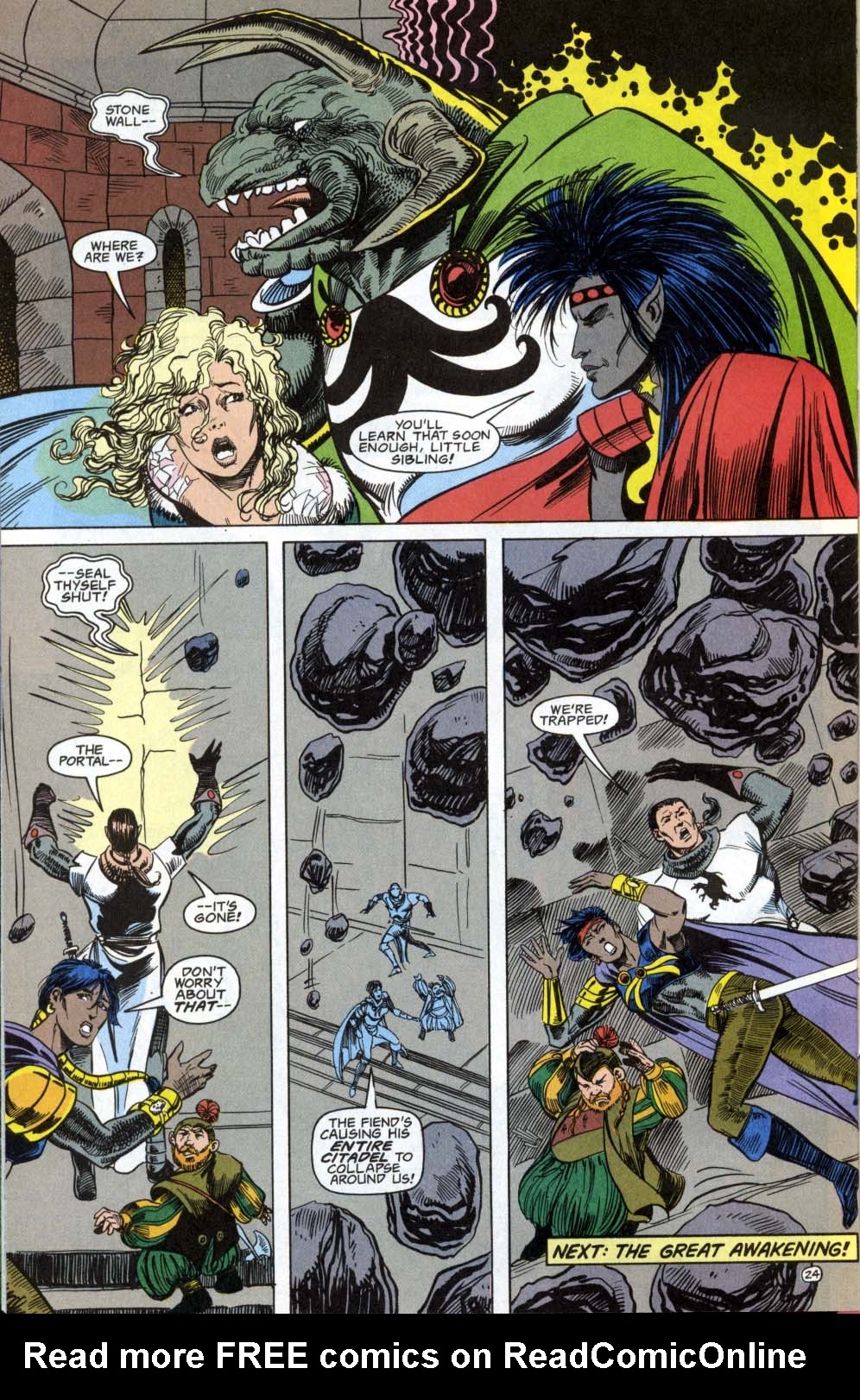 Read online Advanced Dungeons & Dragons comic -  Issue #3 - 24