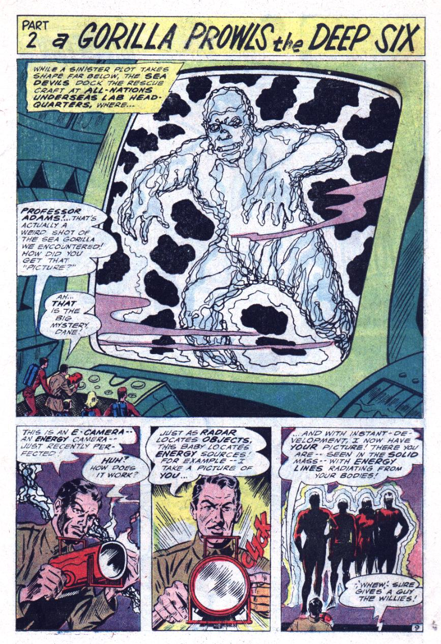 Read online Sea Devils comic -  Issue #30 - 14
