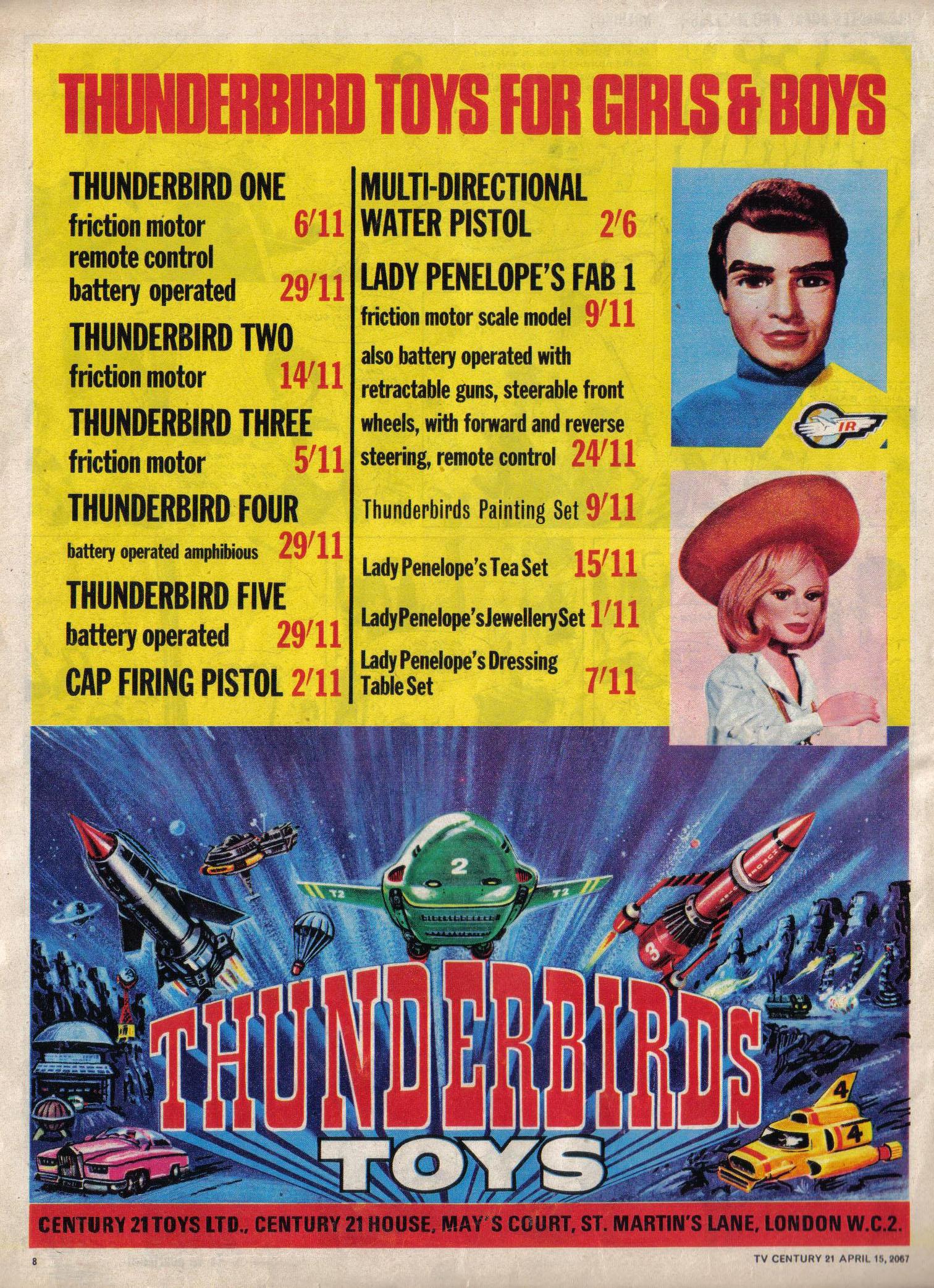 Read online TV Century 21 (TV 21) comic -  Issue #117 - 8