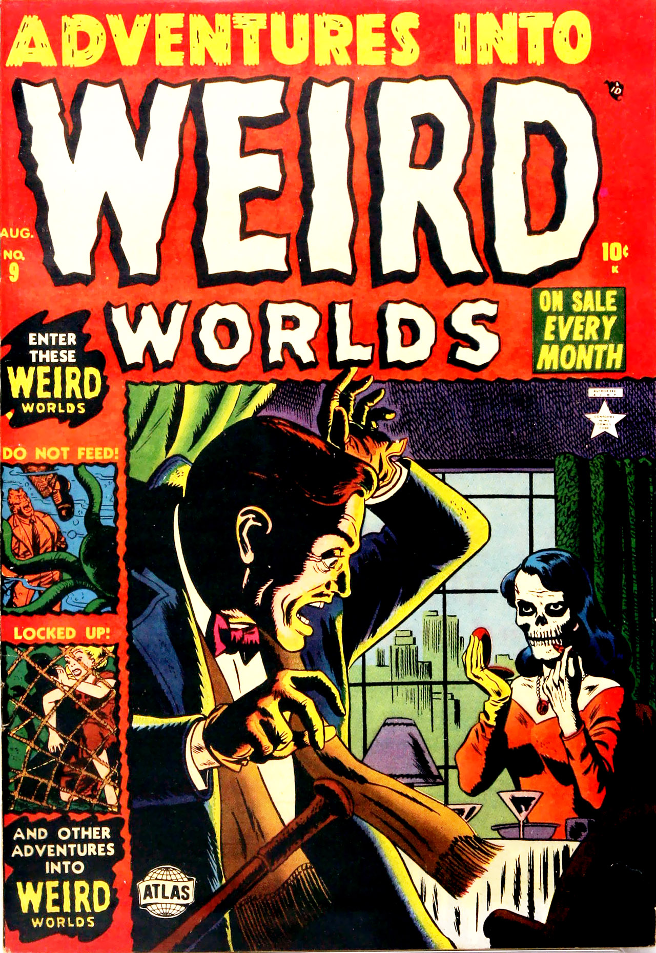 Read online Adventures into Weird Worlds comic -  Issue #9 - 1