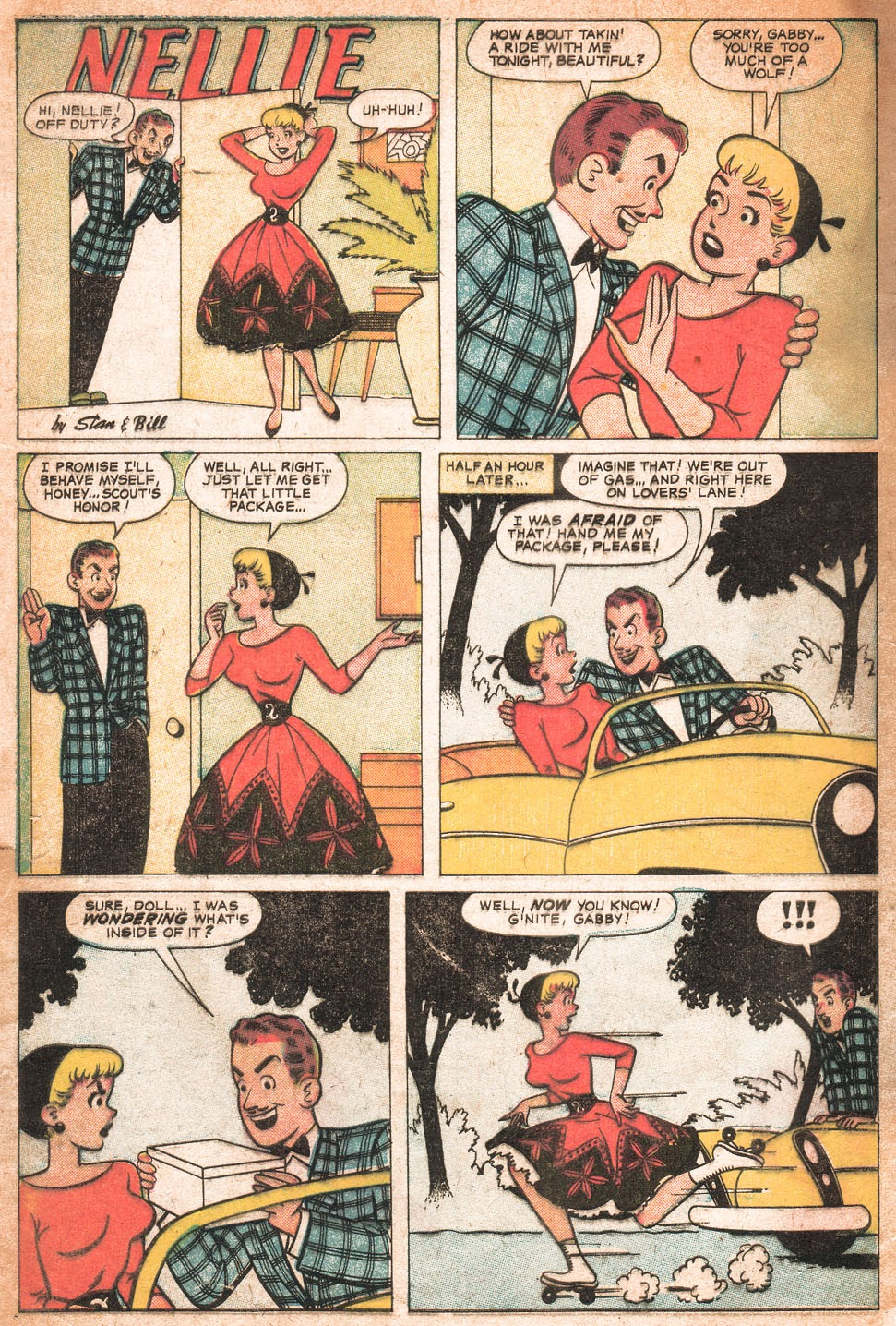 Read online Nellie The Nurse (1957) comic -  Issue # Full - 5
