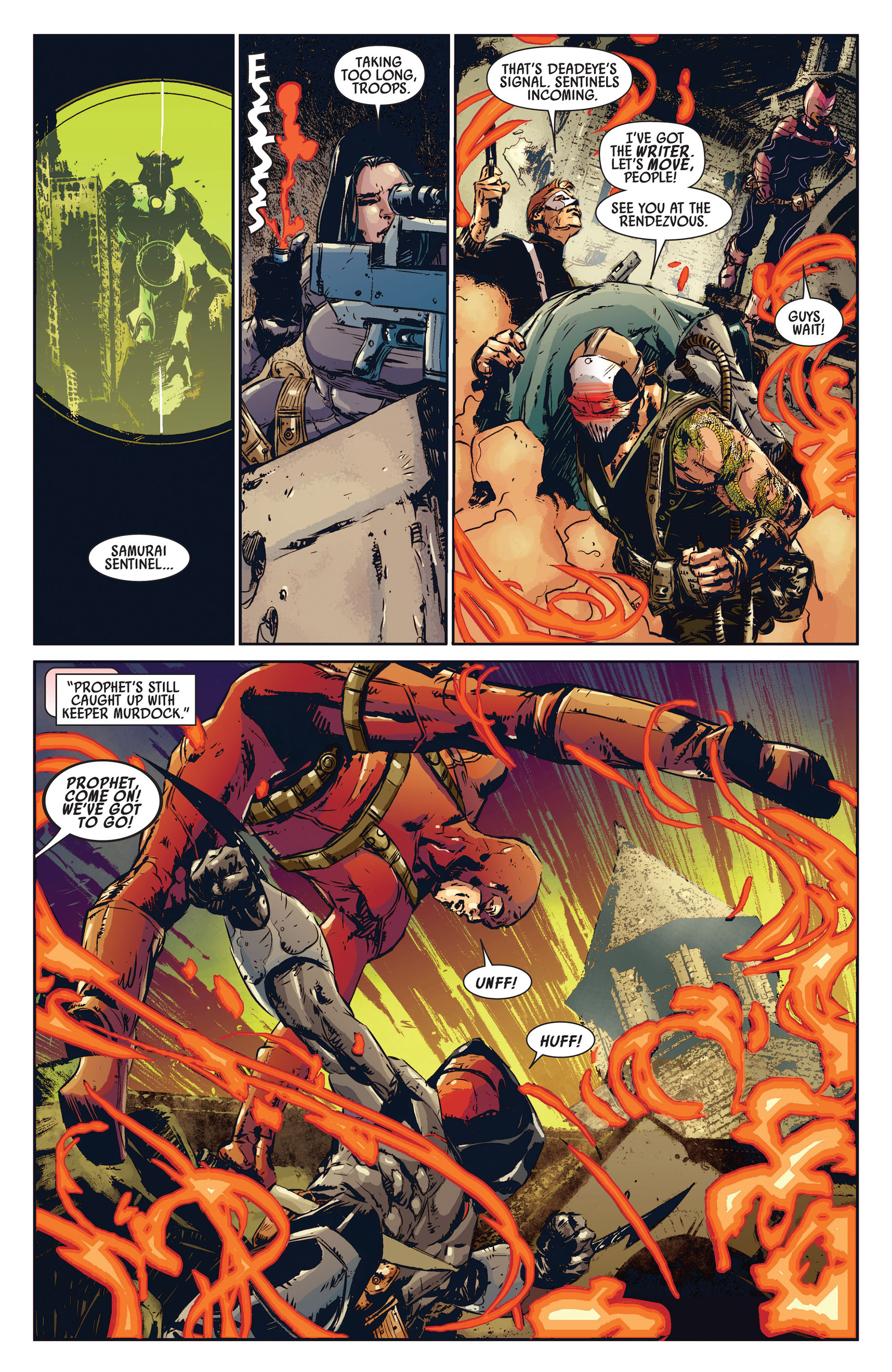 Read online Age of Apocalypse (2012) comic -  Issue #1 - 17
