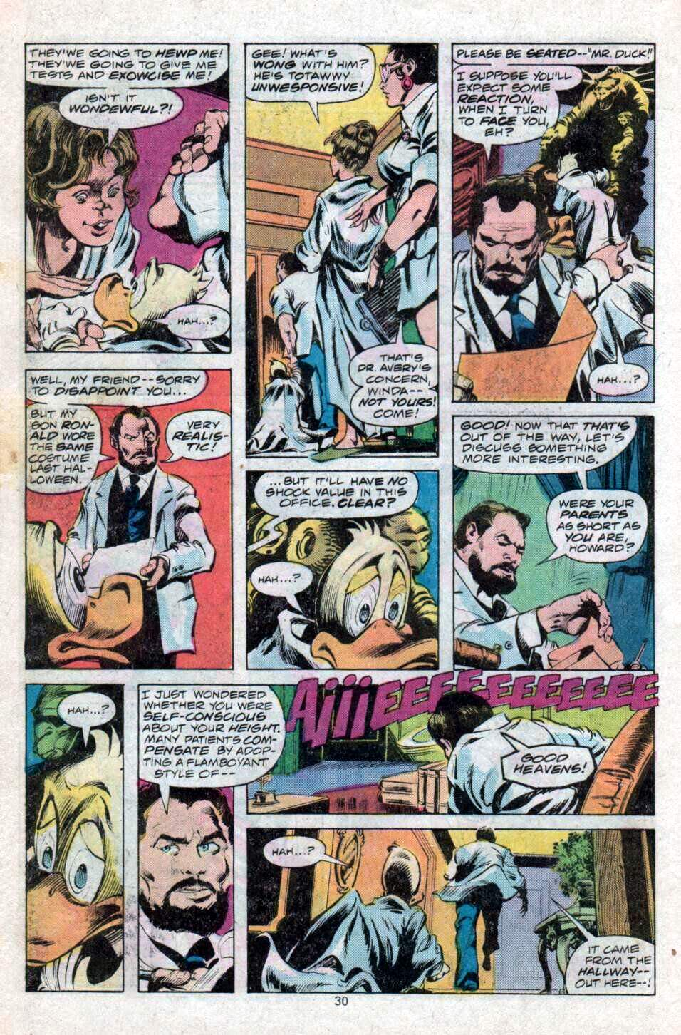 Howard the Duck (1976) Issue #12 #13 - English 17