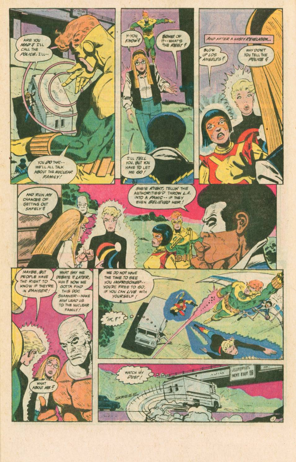 Read online Adventures of the Outsiders comic -  Issue #40 - 13
