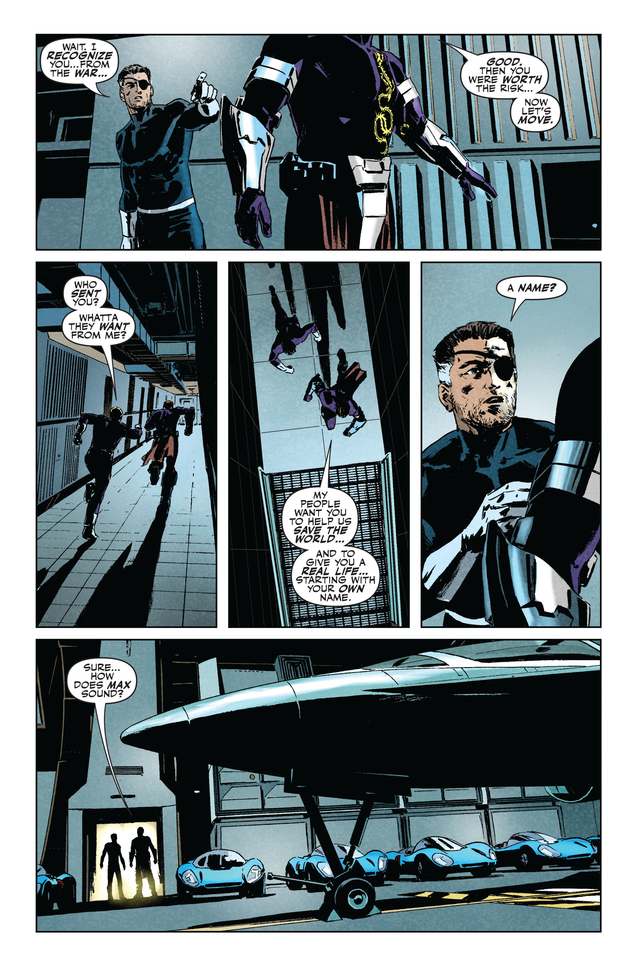Read online Secret Avengers (2010) comic -  Issue #5 - 22