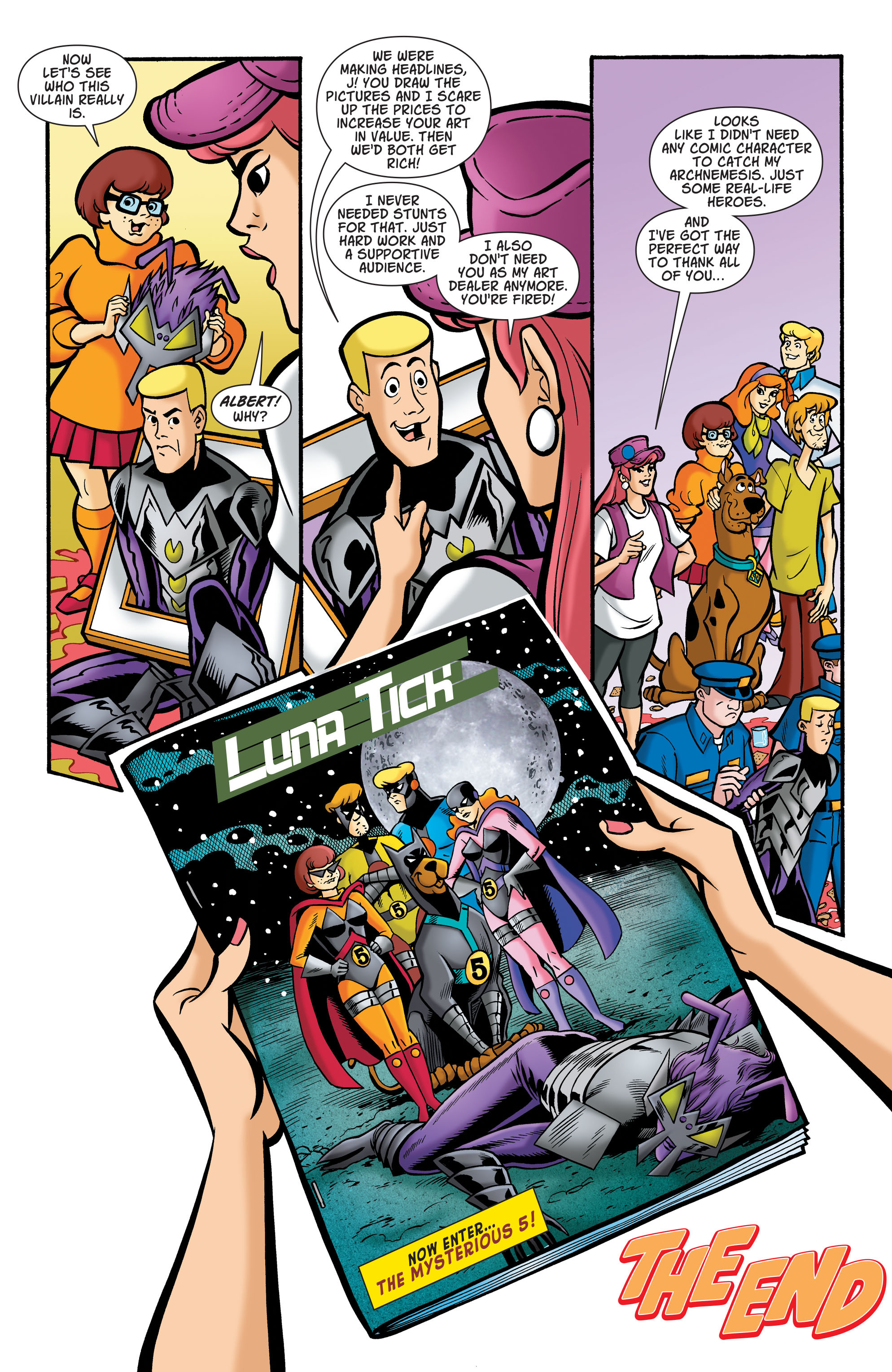 Read online Scooby-Doo: Where Are You? comic -  Issue #73 - 11