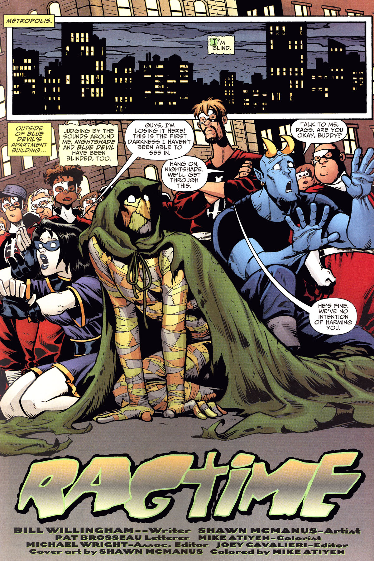 Read online Shadowpact comic -  Issue #8 - 3