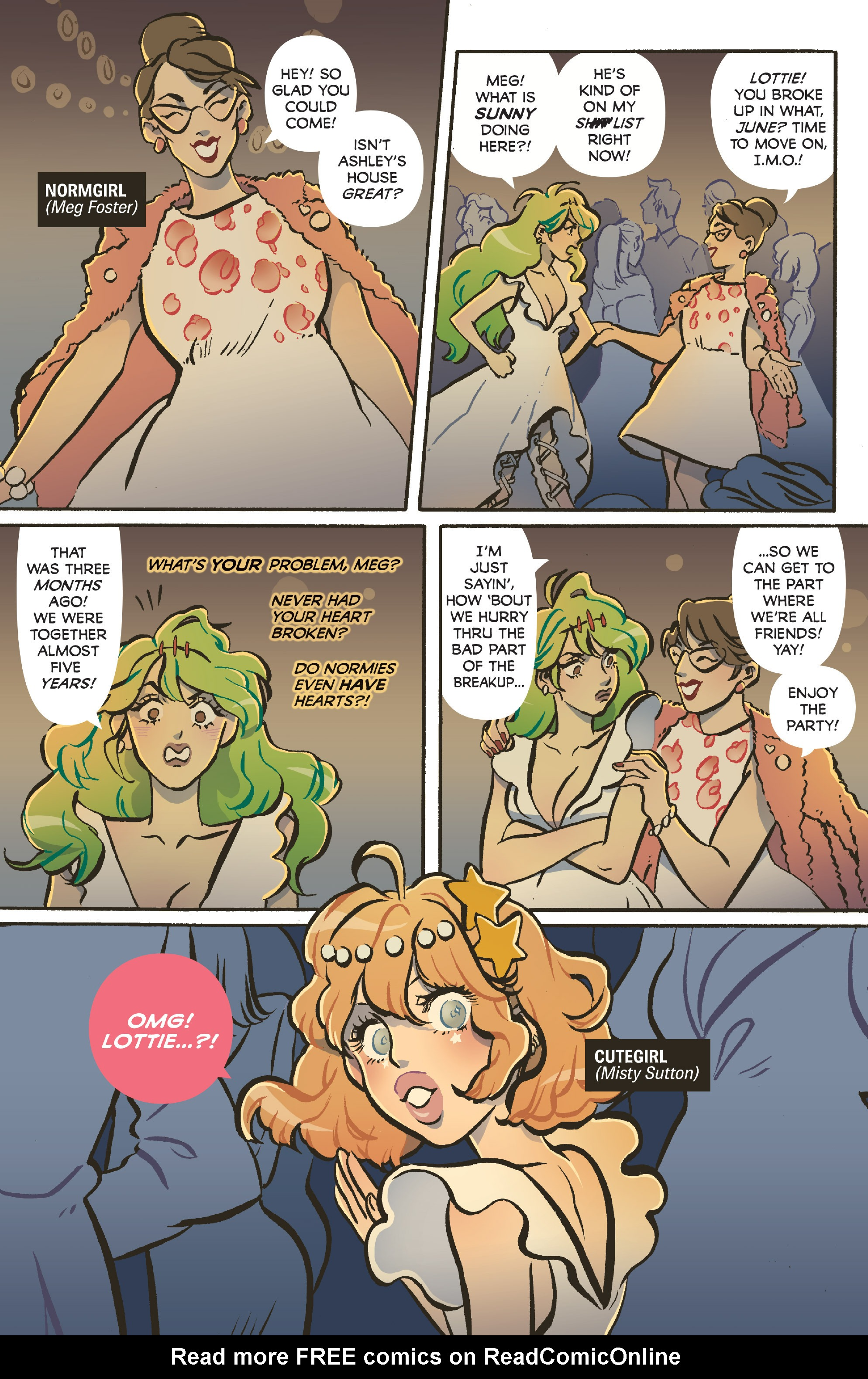 Read online Snotgirl comic -  Issue #3 - 7