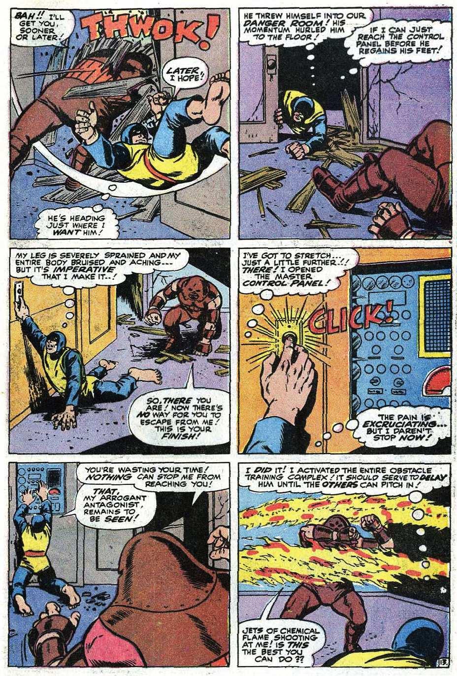 Read online Uncanny X-Men (1963) comic -  Issue #67 - 41